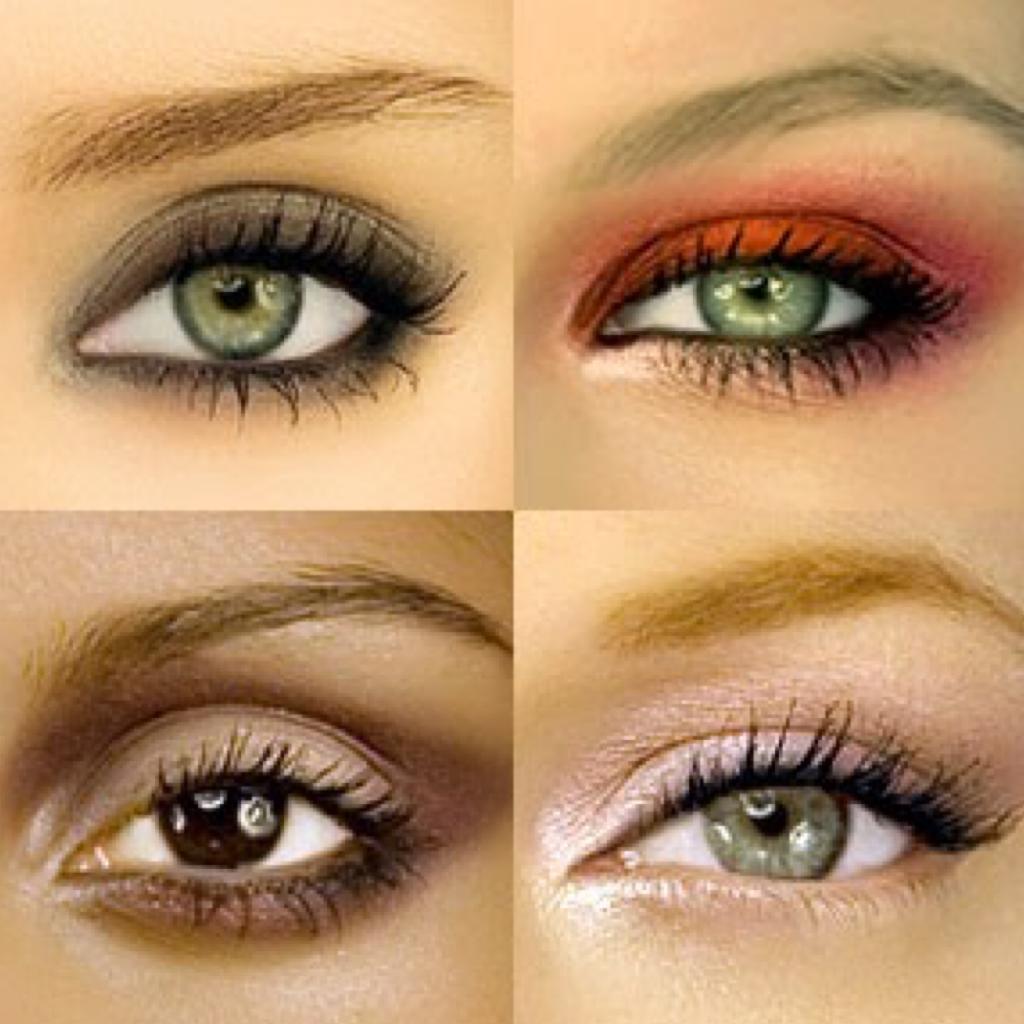 Как выделить глаза фото макияжа