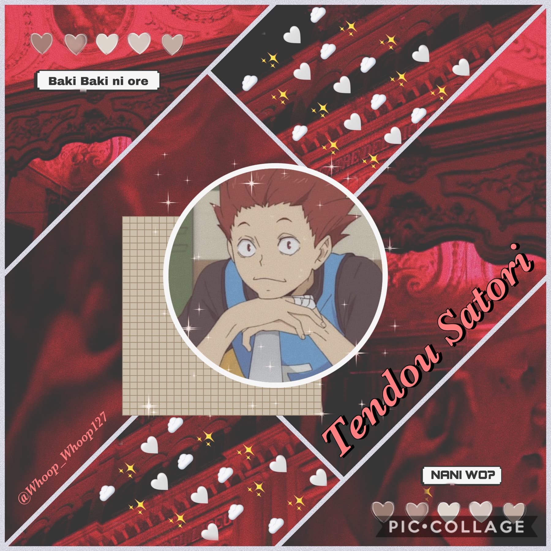 •🚒• 🌻Tendou~ Haikyuu🌻 Edit for @-tendou-! Requests are done! Thank you all for submitting one🥰🥰❤️
