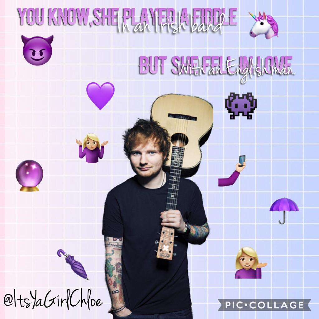 🦄TAP🦄 Galway girl-Ed Sheeran his new album slays❤️💫Goodnight lovelies💫❤️
