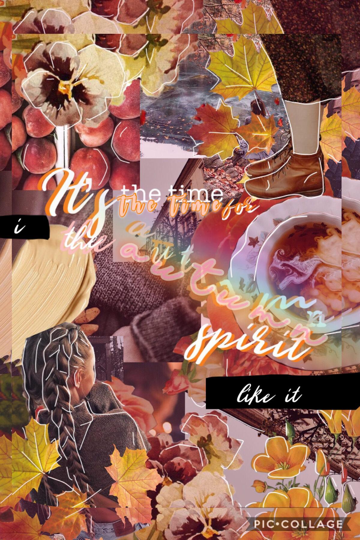 Clickk ✨♥️ I posted smthhh It is officially autumnnn~my favourite season :>  QOTD: Fav season??