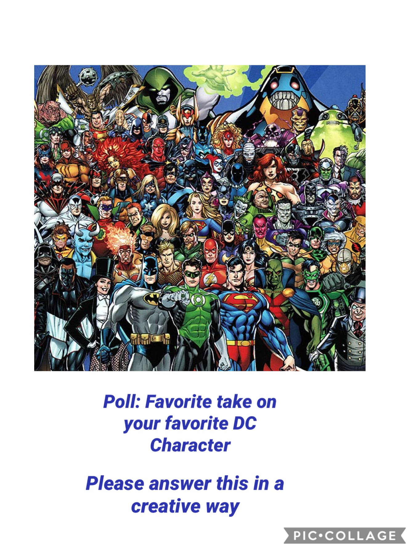 Favorite take on your favorite DC Character