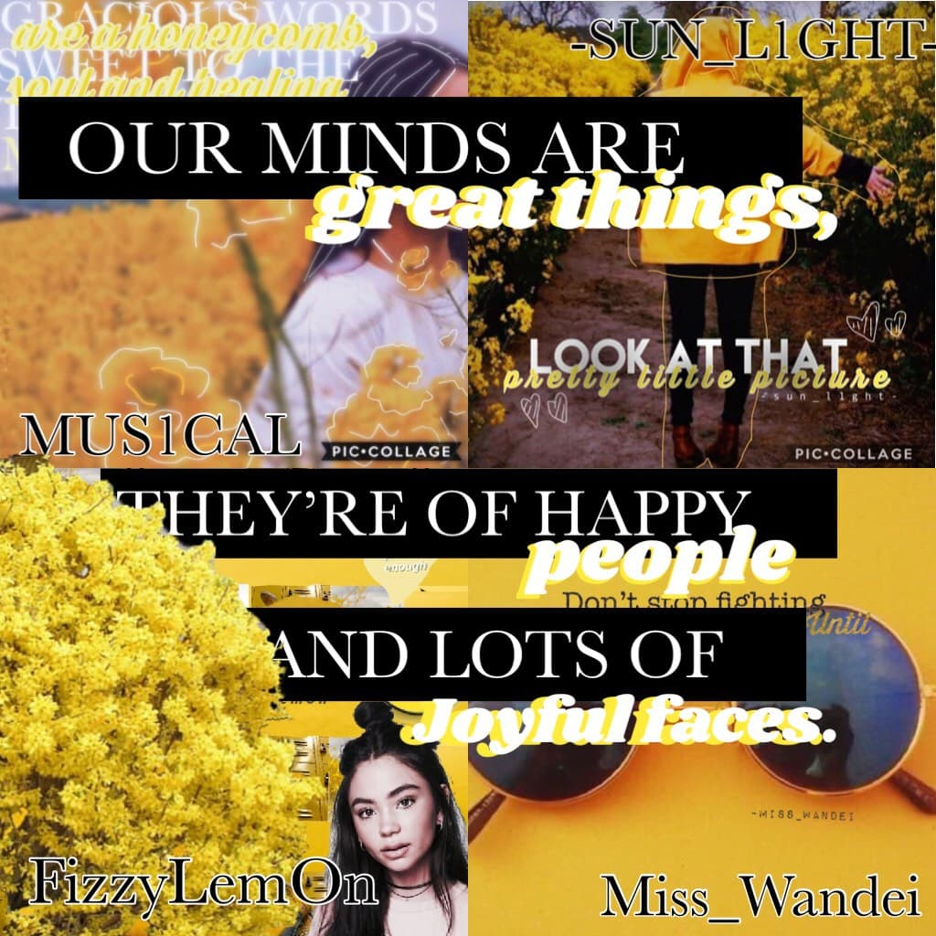 💛💫🌟{11\21\17} MINI MEGA COLLAB WITH...🌟💫💛 @MUS1CAL(Jamakie), FizzyLemOn (Riley), and Miss_Wandei(Wendy)!!! I did the text! My inspiration: @NightProwess!!! GO FOLLOW ALL THESE AMAZING PEOPLE!!! Yay! 3 no 4 posts today!