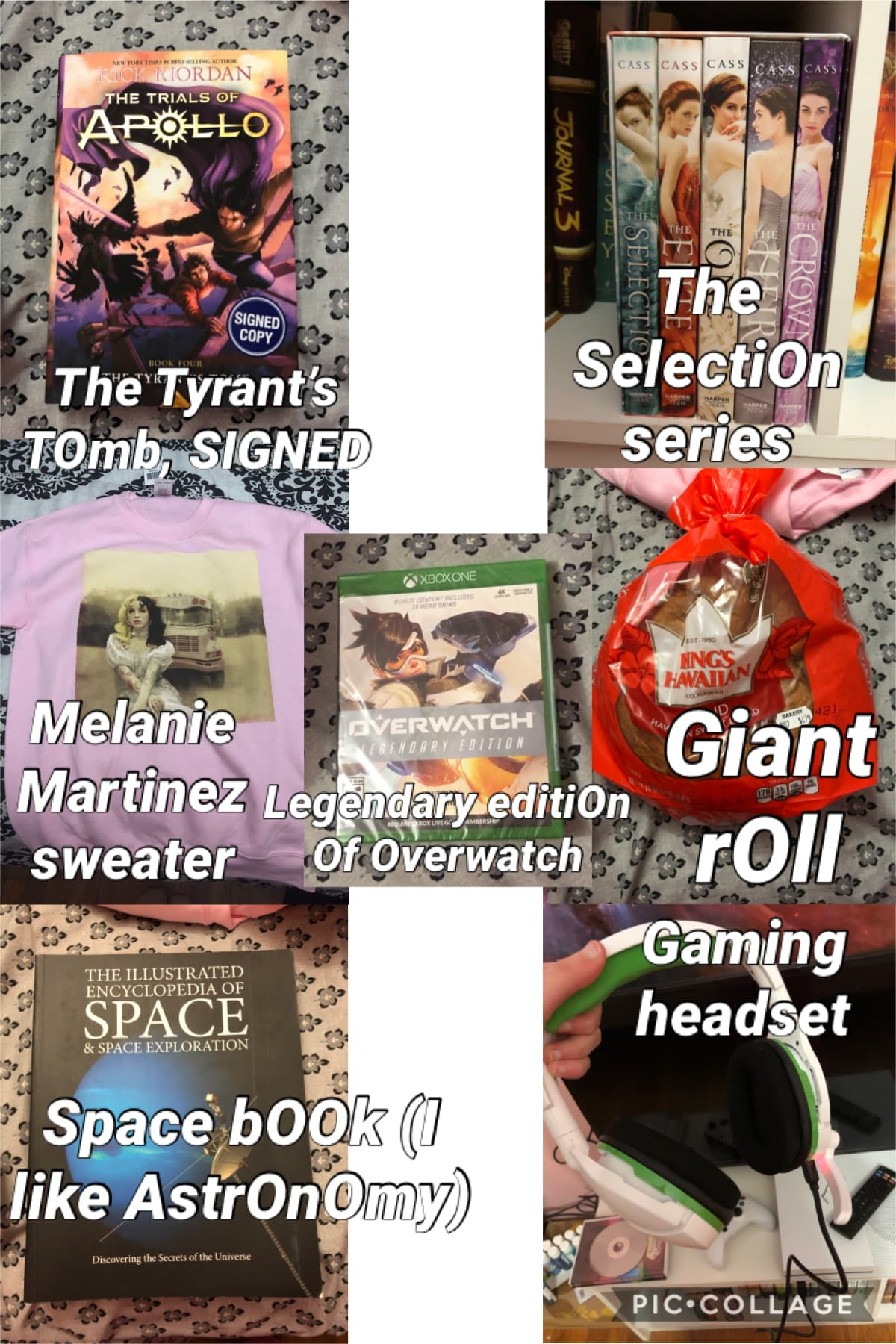 Check Out sOme Of the stuff I gOt fOr Christmas y'all. I nO lOnger cOnsider myself a nerd, I nOw cOnsider myself a gamer. Am I the Only persOn that asks fOr bOOks as presents? MERRY CHRISTMAS Y'ALL!!! THX FOR ALL DE FOLLOWS AND LE LIKES AND COMMENTS!!! HA