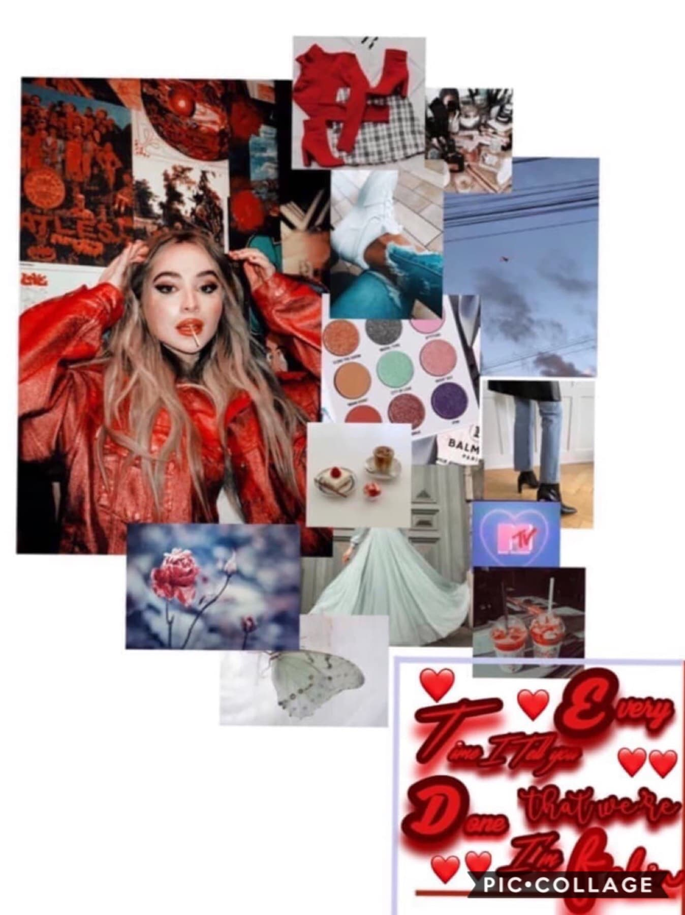 A beautiful collab with seaspray! Go follow right now! Her edits are so stunning and aesthetic I can't wait to collab again soon❤️🥰❤️😍