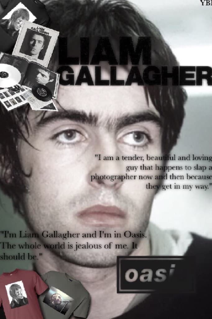 youblitheringidiot is typing...  happy belated birthday to liam gallagher... as you were