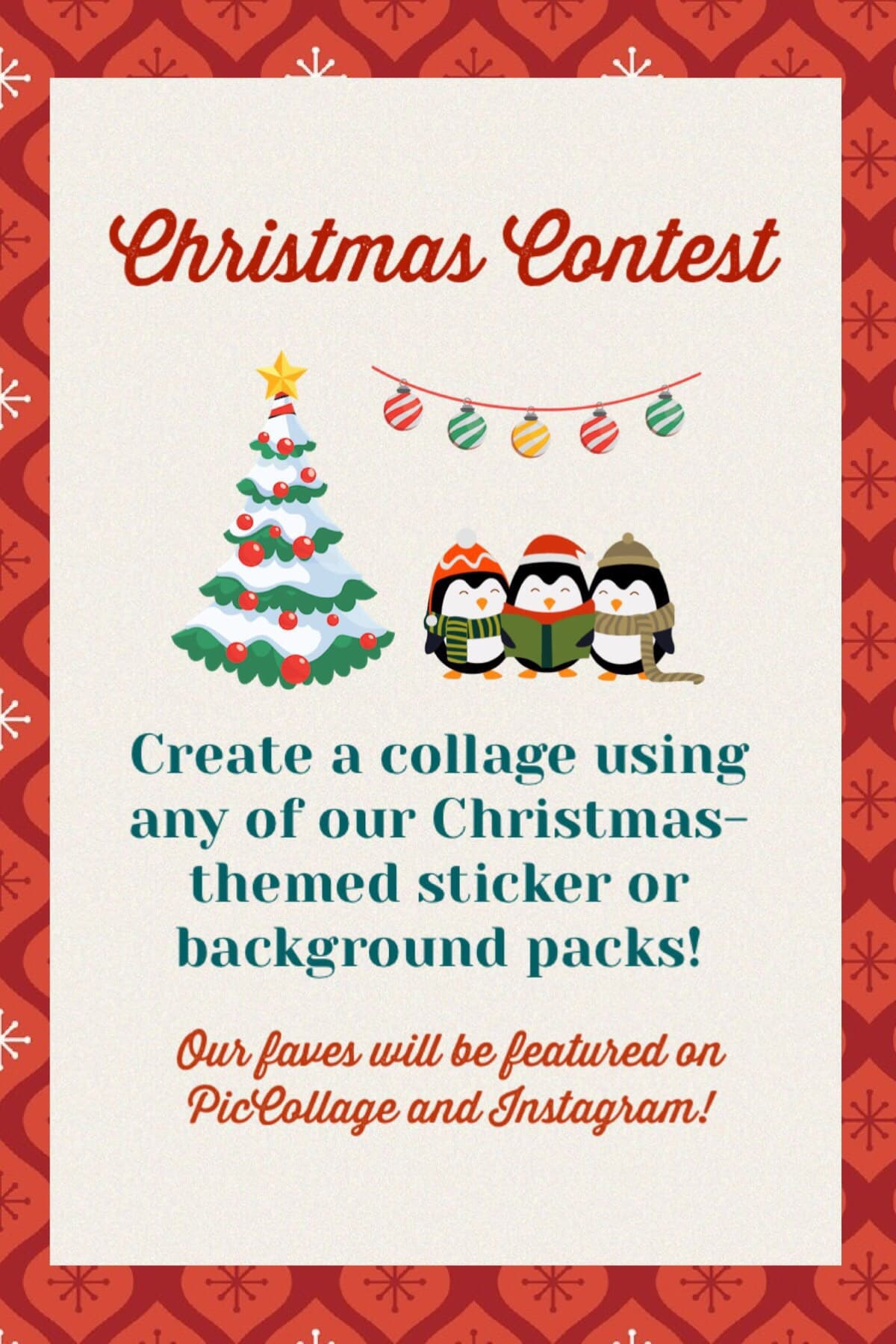 Check out our Christmas Contest! Deadline is December 27, 2018! 🎄