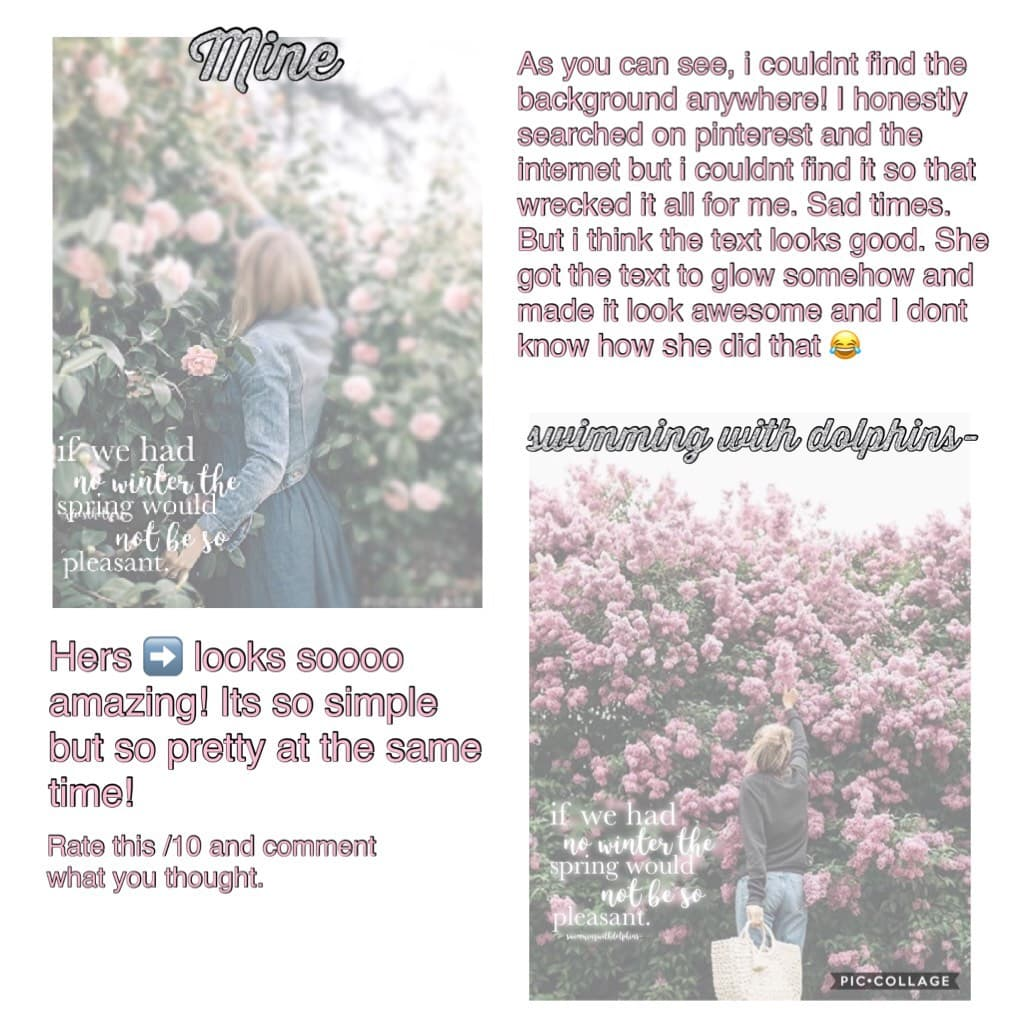 🌷The last copying post   tap me🌷 Hey little Aesthetics 💗 What do ya think? Rate /10!!  New theme after this!! Guess what it is! 😝
