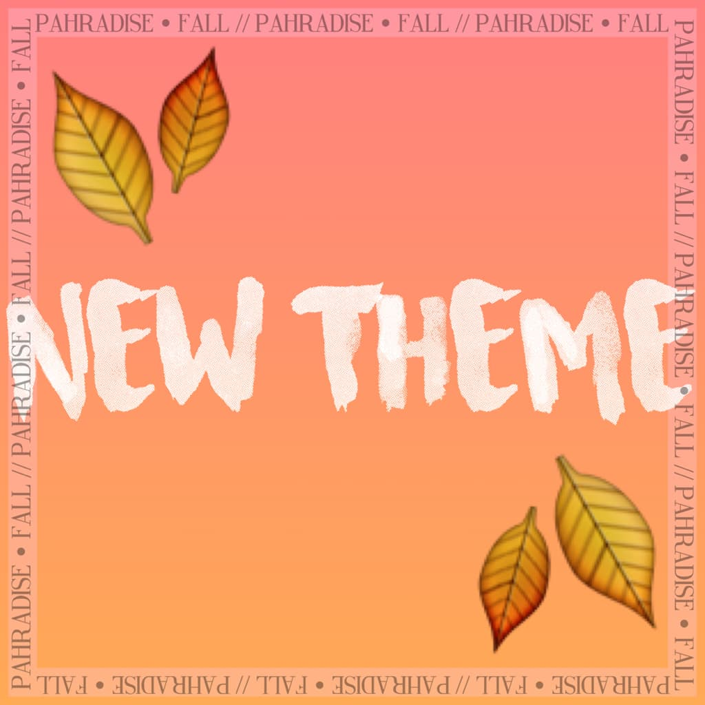 get ready for someone being active for once😂🙃  New theme starts tomorrow!! {9.20.16 - fc; 538}
