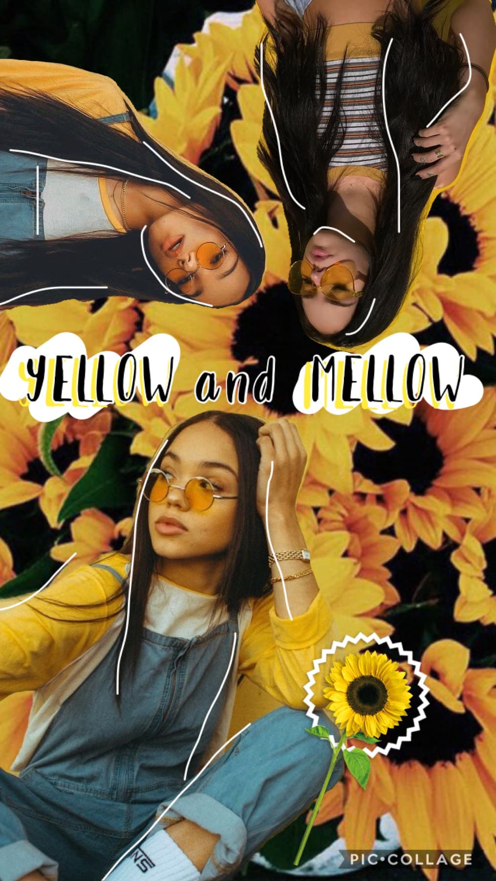 i am so sorry (tap🌻) sooo i haven't been on pc for like... two weeks? and i'm so sorry! there's been things going on and INSPO HAS BEEN SO ANNOYING (ty for jayraffe inspo ha 🐝) buut here's a bad yellow collage yay 🌼 RAINBOW #3 - YELLOW 💛