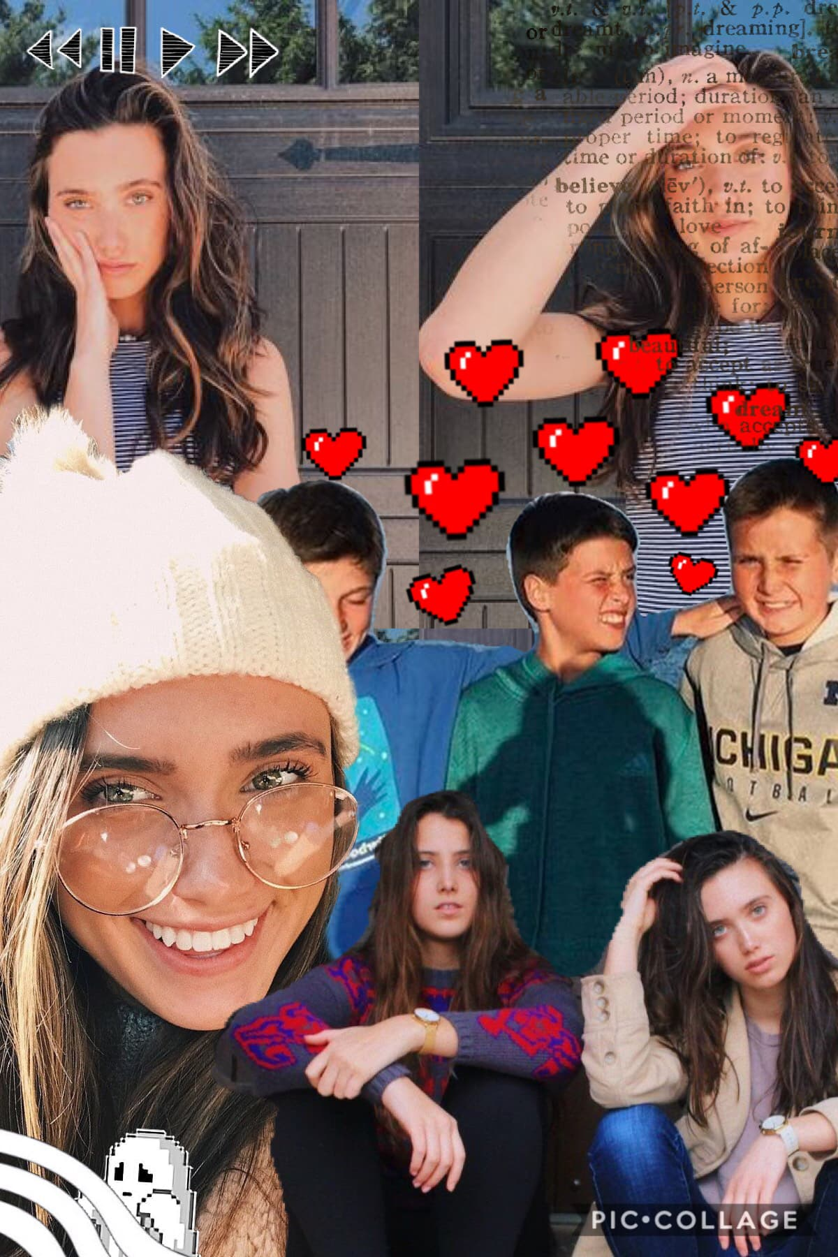 Hannah Meloche!!❤️❤️ anyone else love the meloches??