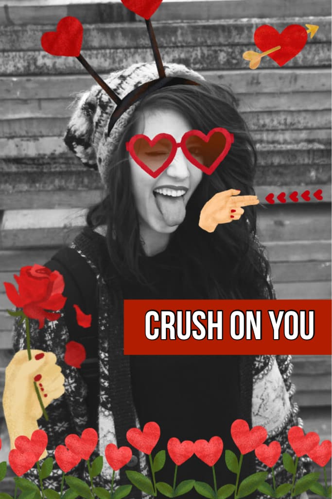 Crush on You sticker pack!