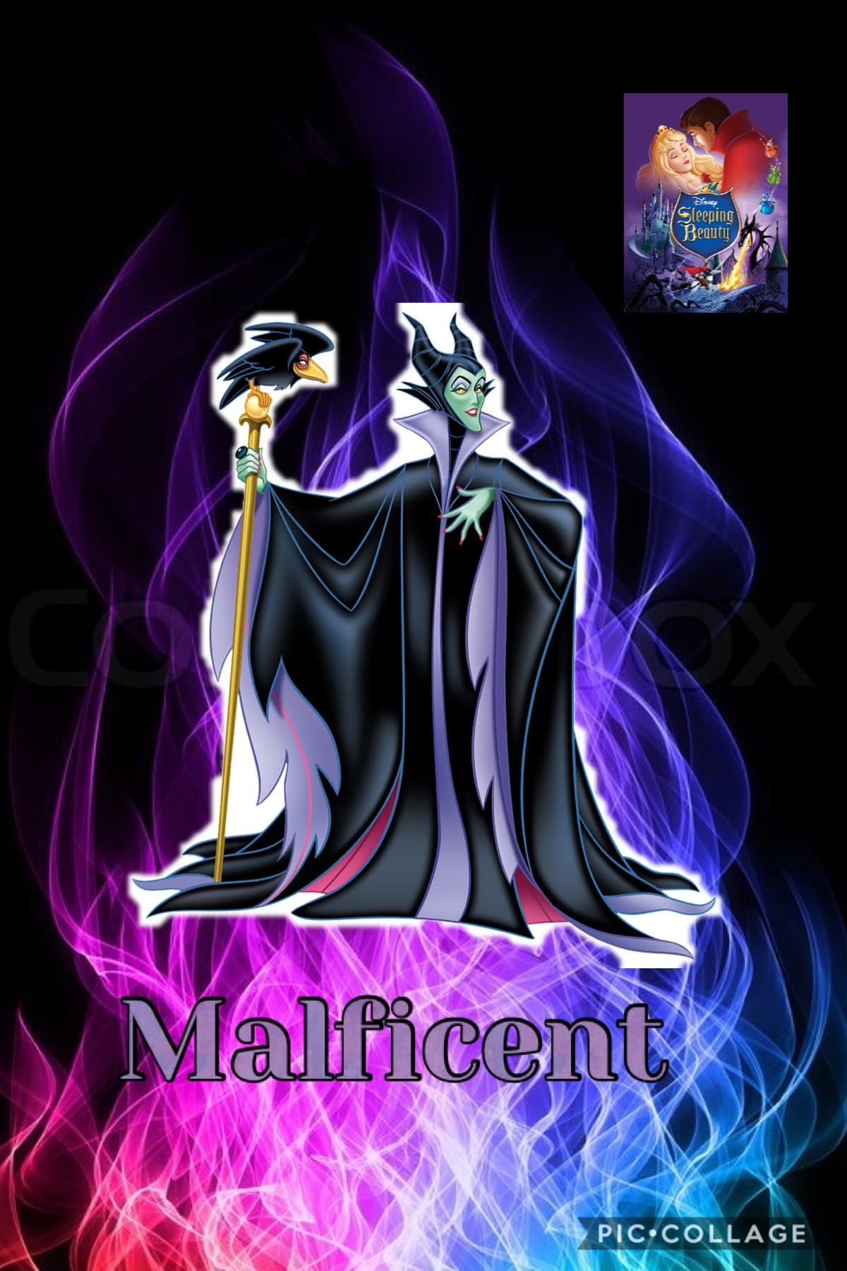 Maleficent the Disney character of the day