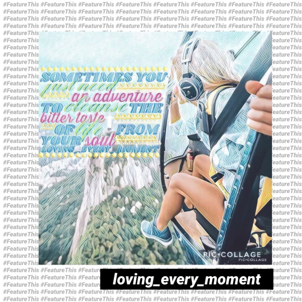 Omg look how pretty this collage by @loving_every_moment is!! This deserves like a million features 😊 QOTD: should I do more than one mini feature per day? AOTD: uhh...idk, that's why I'm asking you! 😂