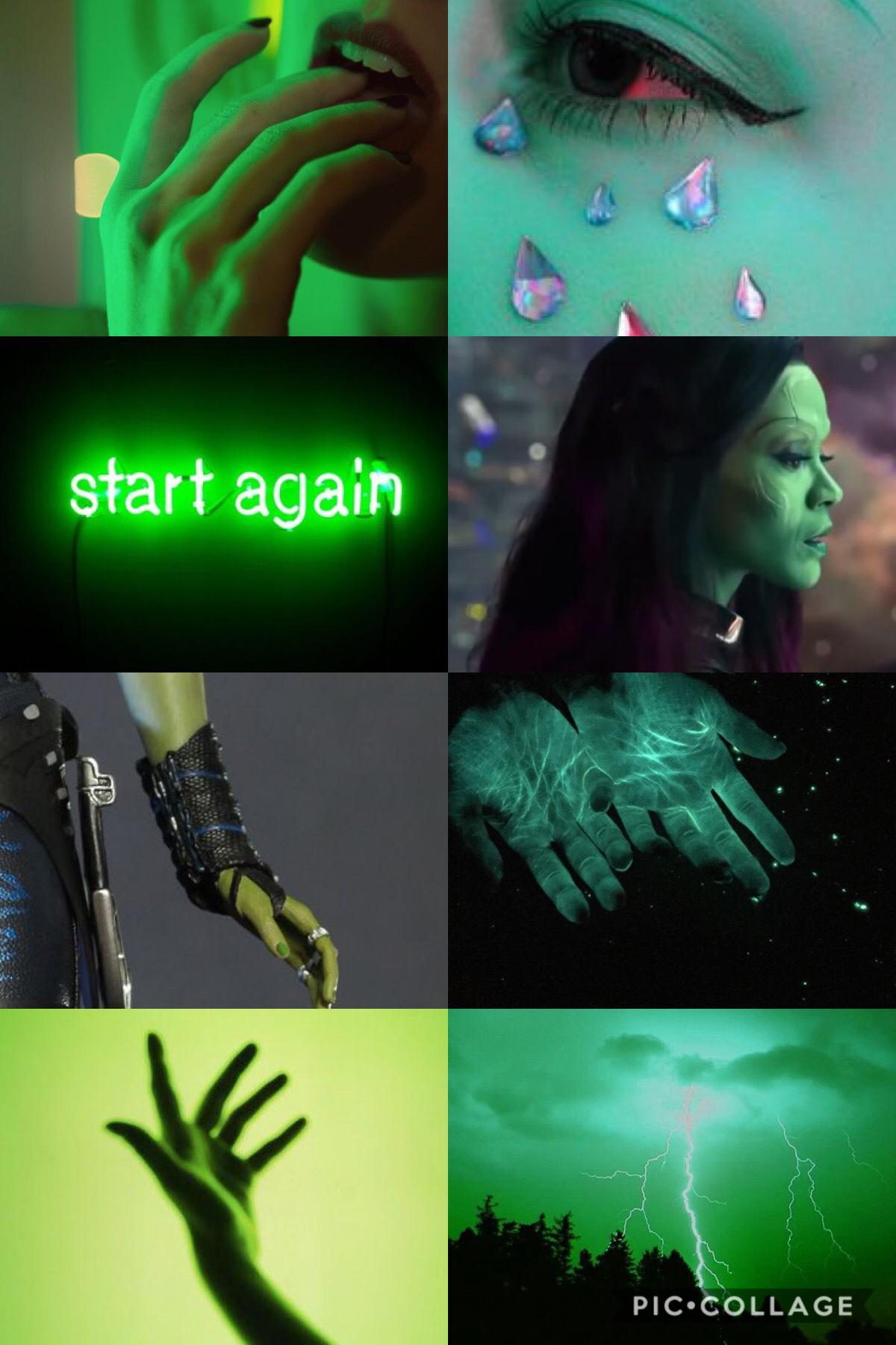 ✨Gamora!✨ Welp had to make this for my new username! Love Gamora! 💚