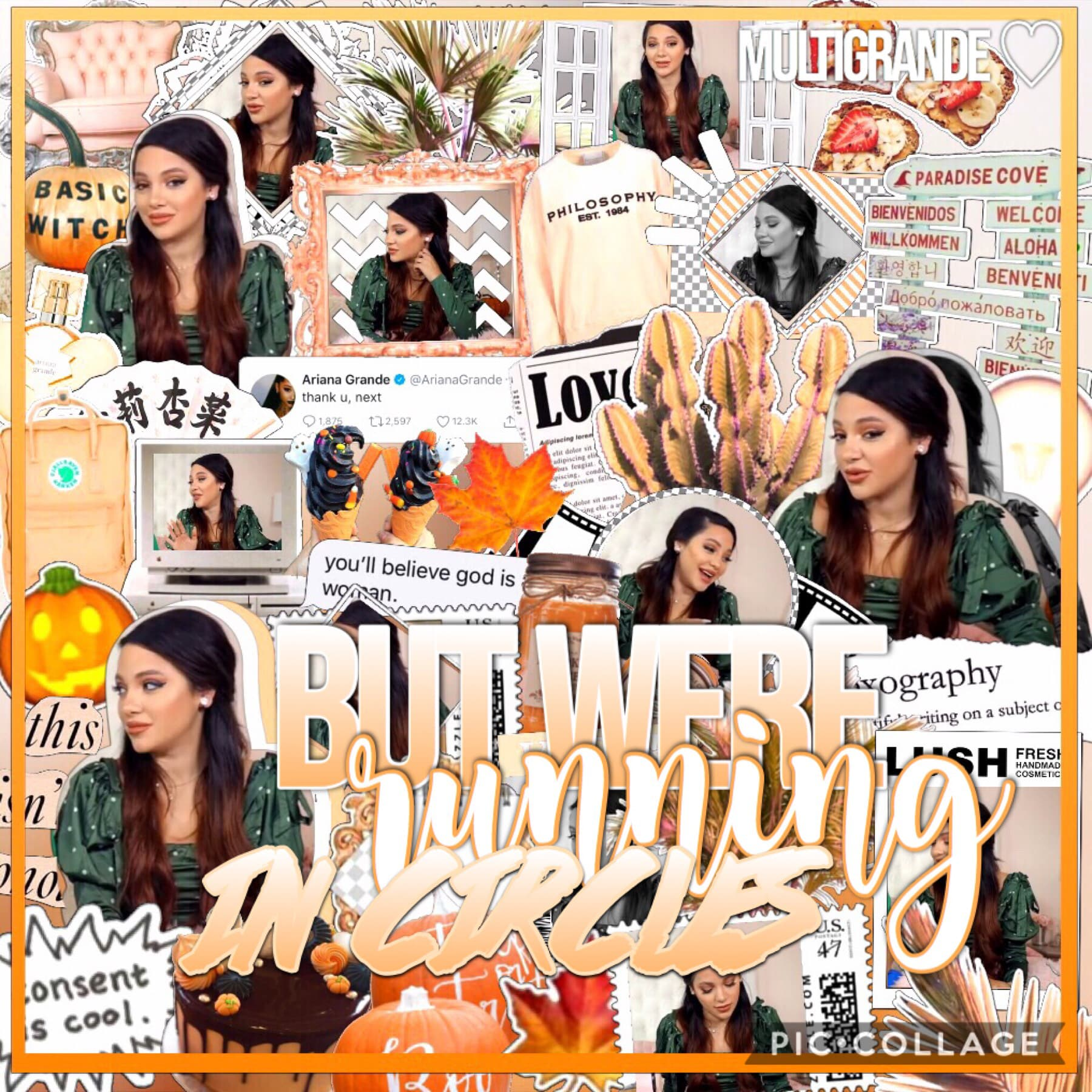 good morning! not my best but its cute🧡 excited bc im going to a pumpkin patch today!🍂🎃