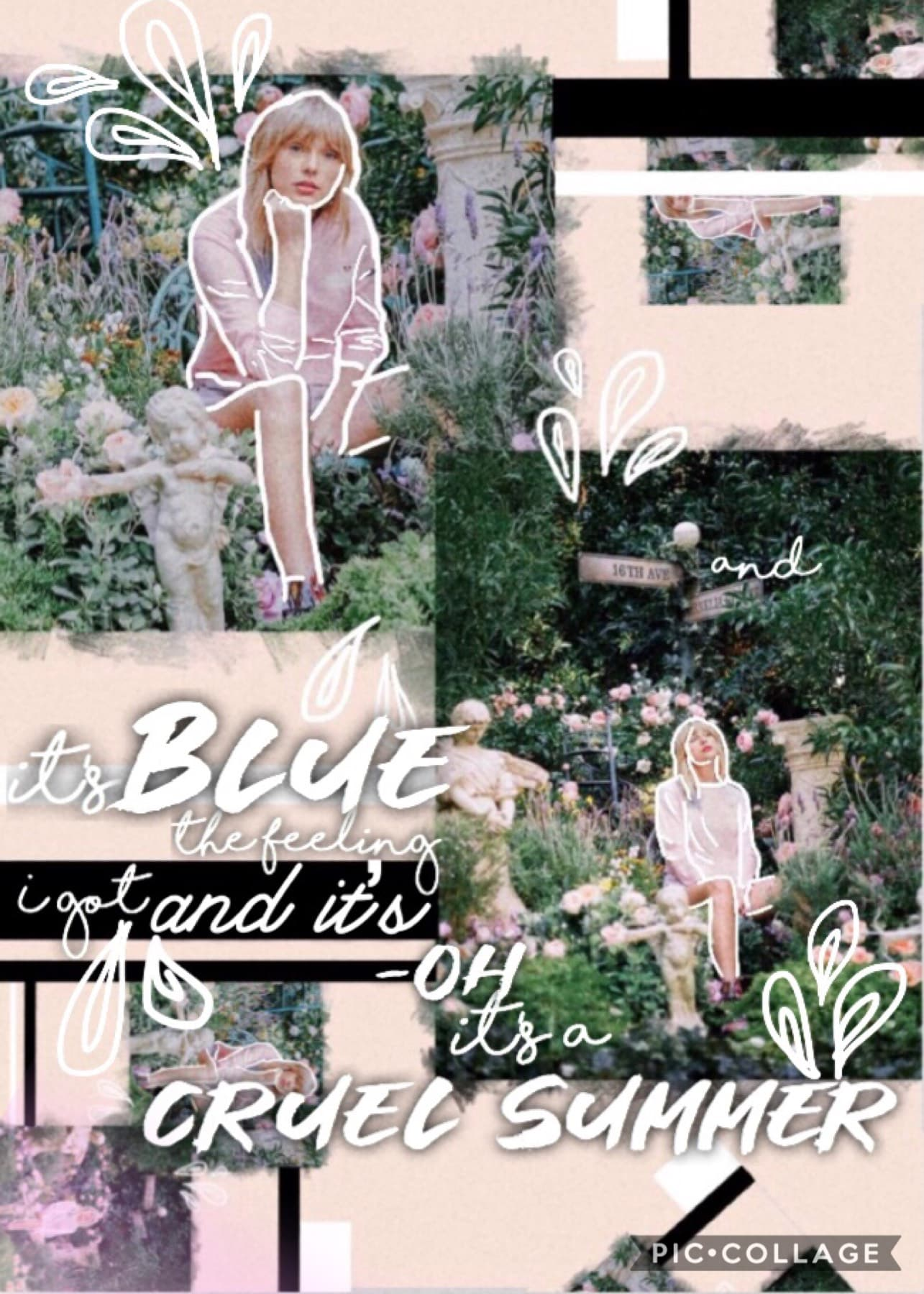 tappity tap eeeek first collage~I am actually kind of happy with this ✨ Who else is an absolute swiftie?