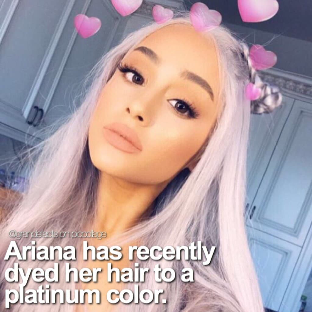 HER HAIR IS SOO PRETTY 😭😍😍 I know a lot of people think it's a wig, so check the comments for proof it isn't!👀 qotd: do you like her new hair?  aotd: YESS OFC 😩😩😍💛