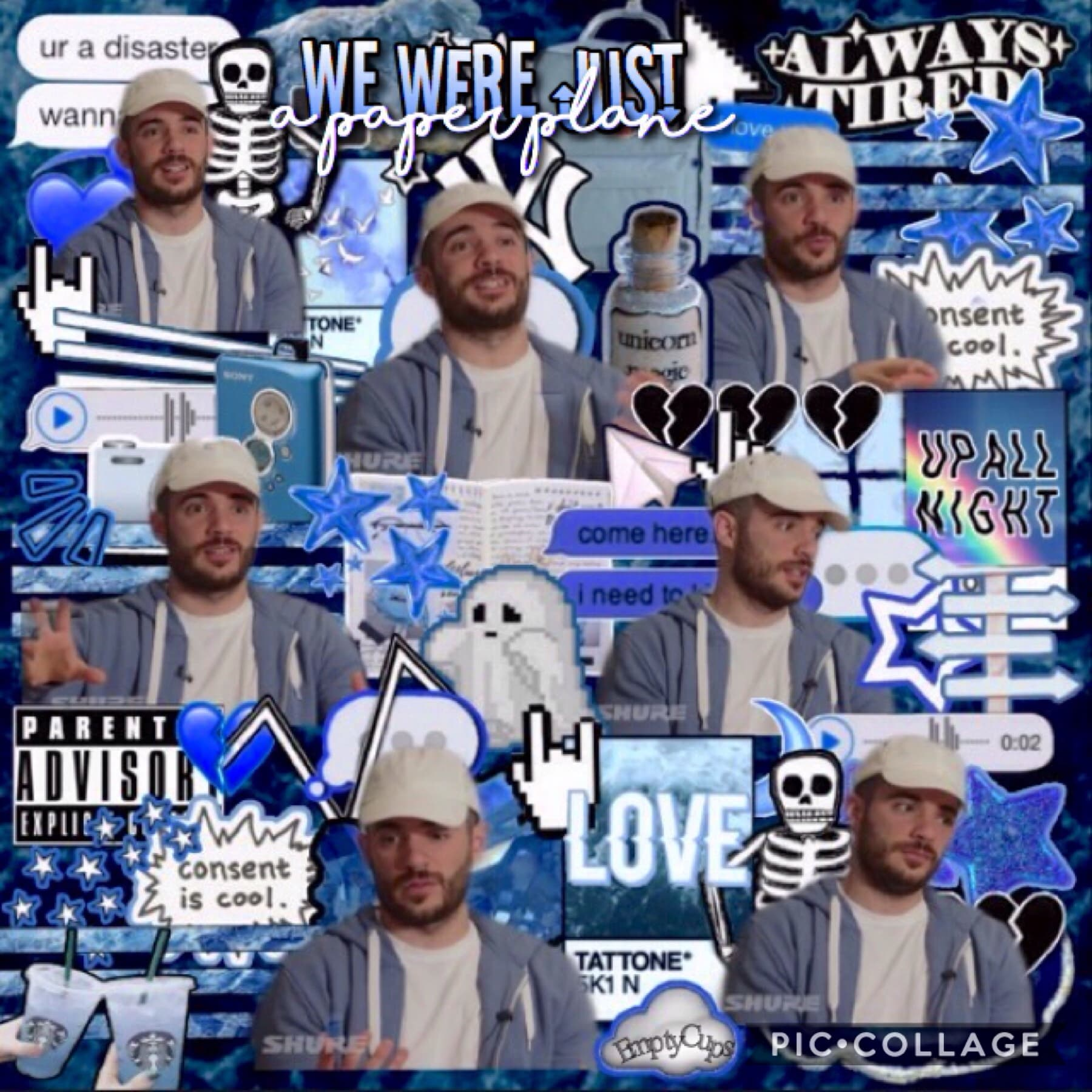 ||10-25-18|| 💗🎉 Ok so first today's my birthday! Second, first edit back! Third, meet my idol Jon Bellion 💕💕  /Love Came Like A Hurricane and We Were Just A Paper Plane/ Song OTC: Paper Plane Artist: Jon Bellion 💕💞💖