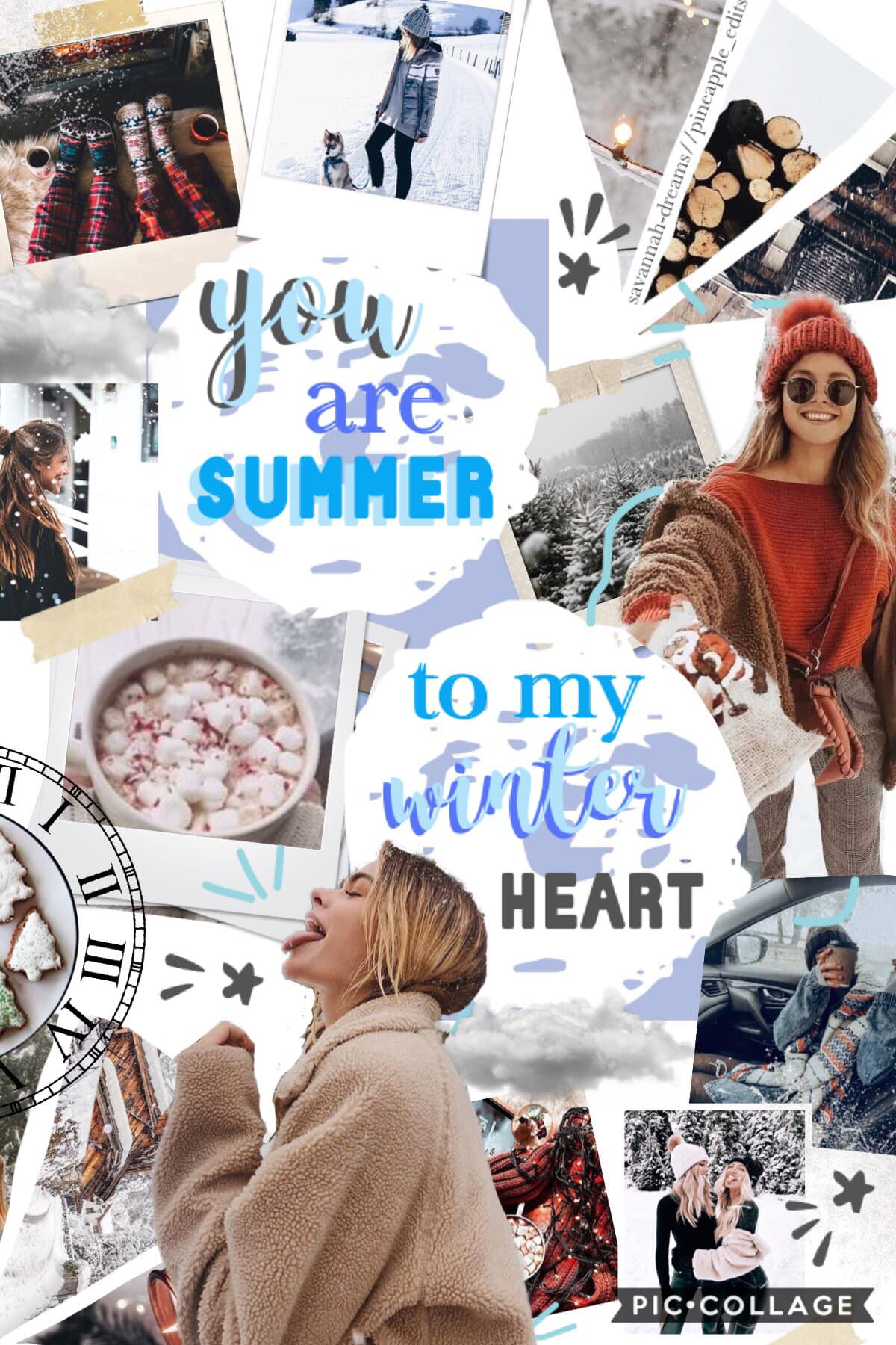 oop it's a bit early for winter collages but oh well 🤷🏼‍♀️🌨❄️ this is a collab with @pineapple_edits ✨🐋 she found one of the bgs and i did everything else 🐚✌🏼