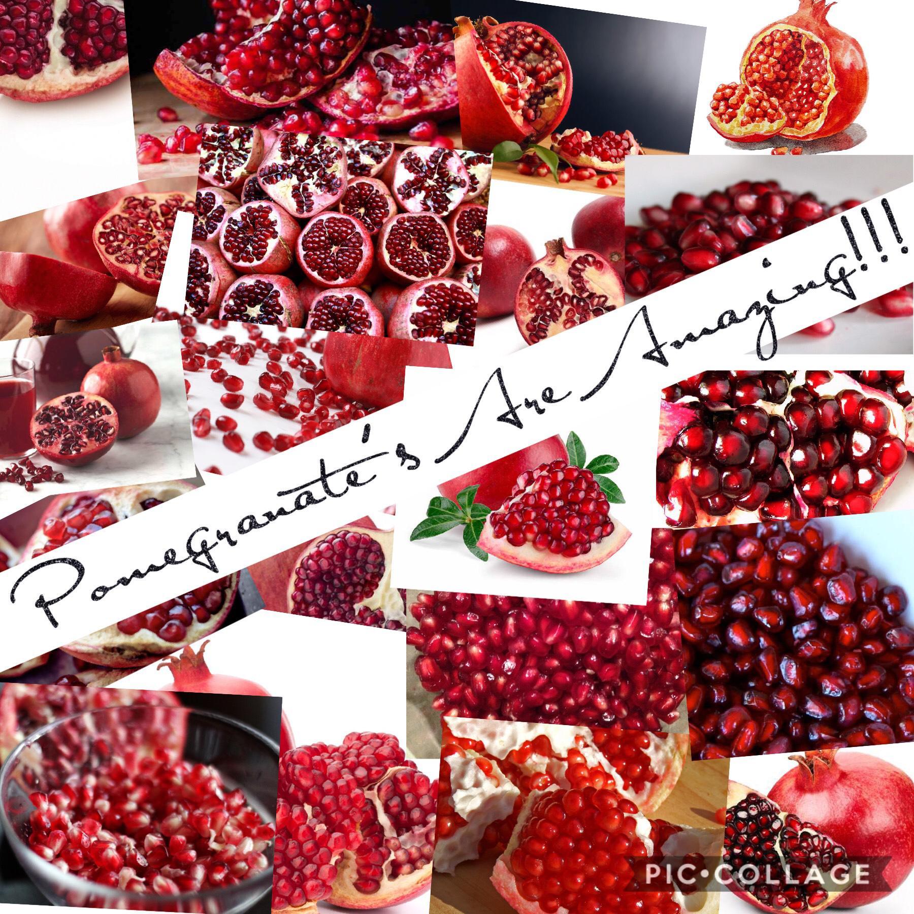 Pomegranate's?!