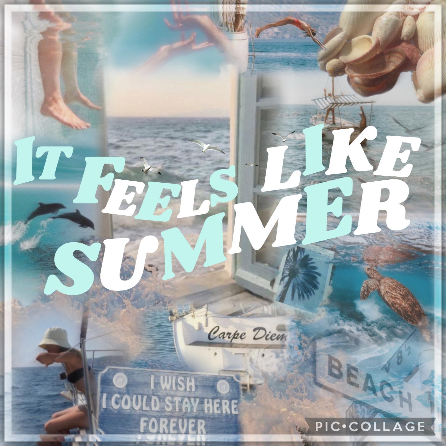 How is summer half over 🌊
