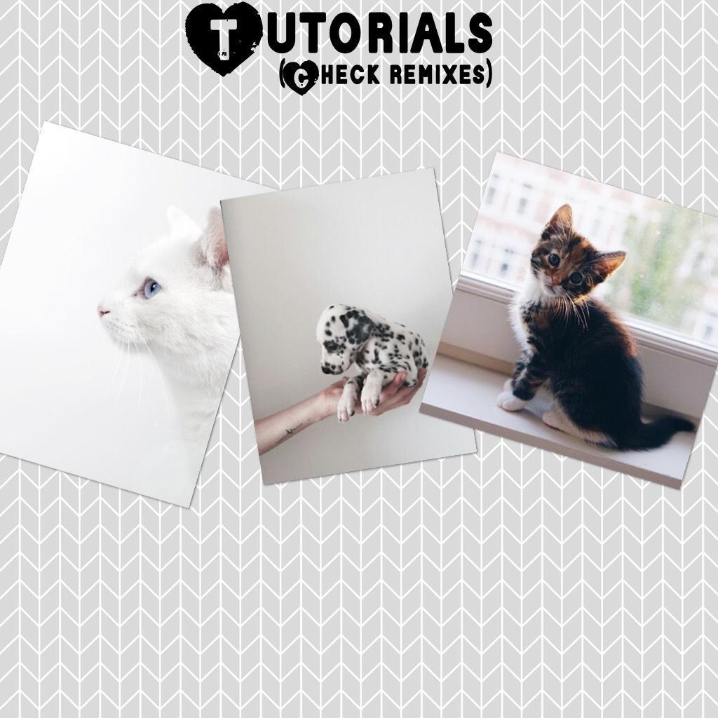 Tutorials/CHECK REMIXES