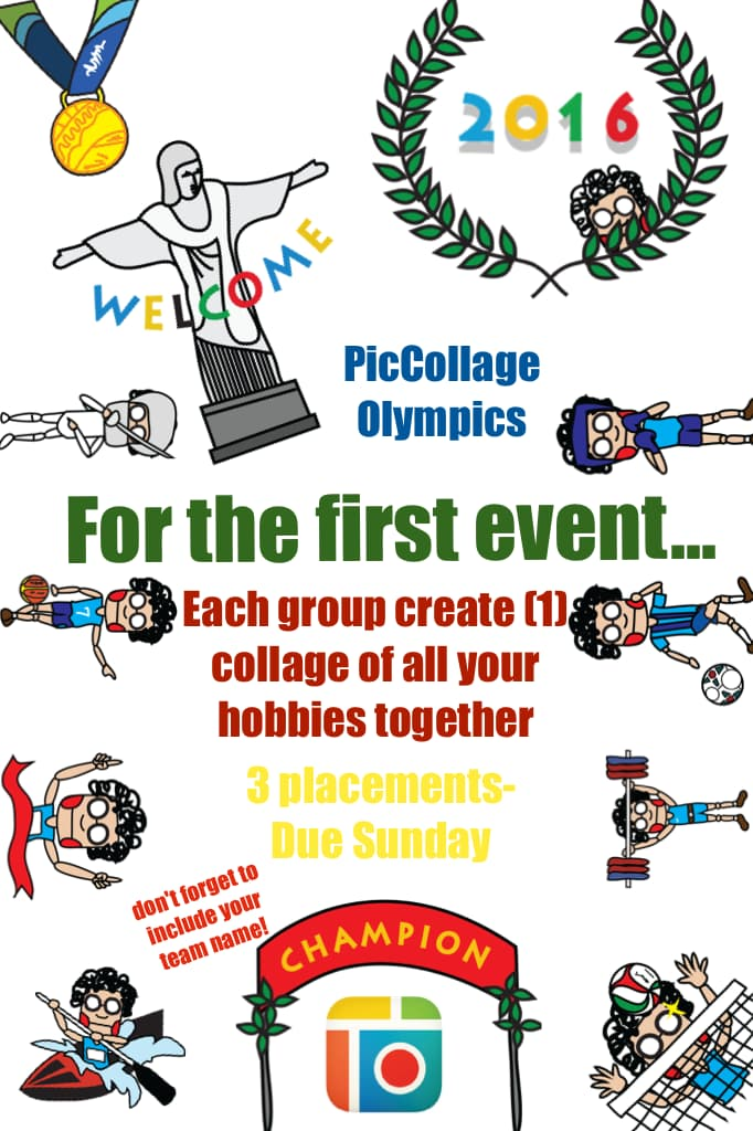 PicCollage Olympics - Event 1
