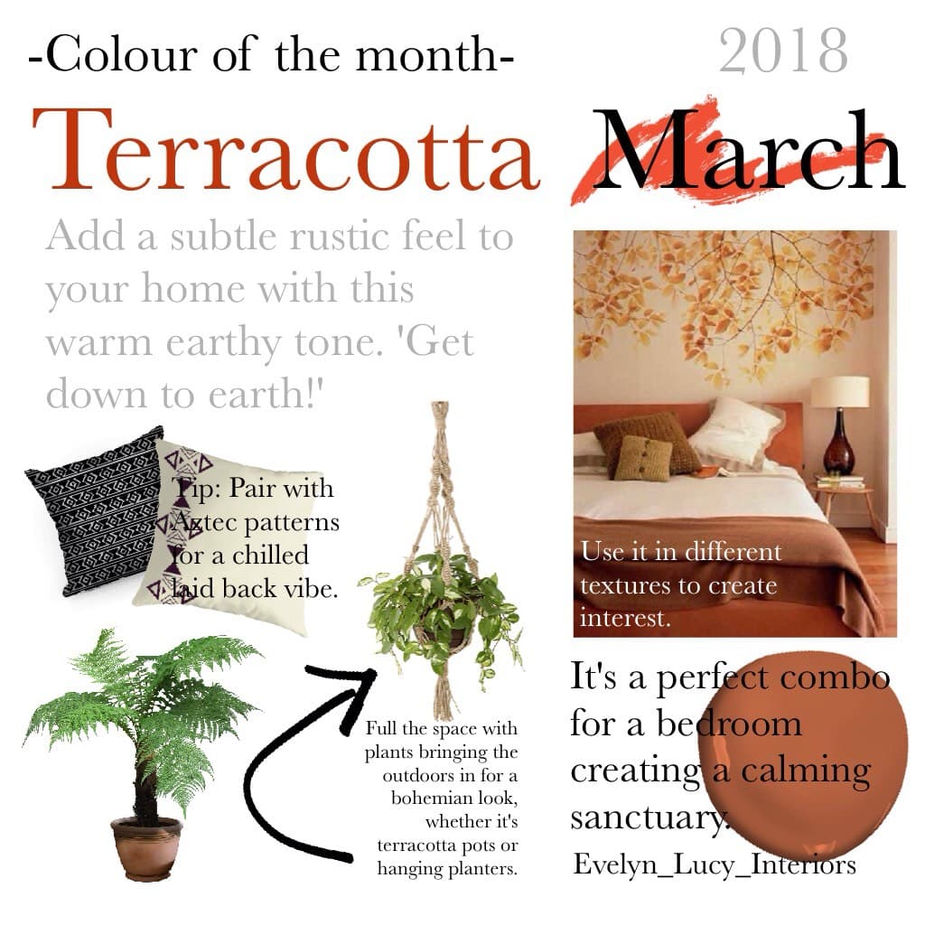 Colour of the month!