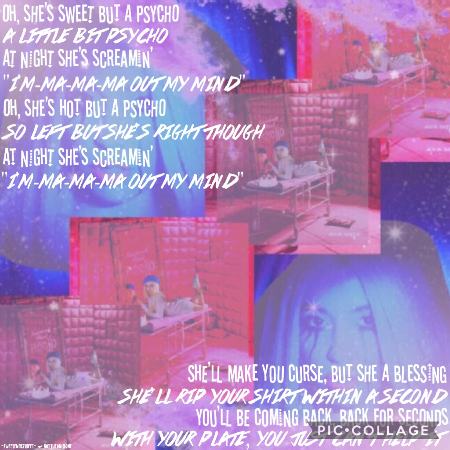 Collab with the spectacular....🥁🥁🥁 not_the_only_one!! If you're not following her, go do that! She's so sweet and talented!! 💜💜 I love this song!! 🥰🥰 QOTD: Favorite song? 🎼 -Jenna 💖