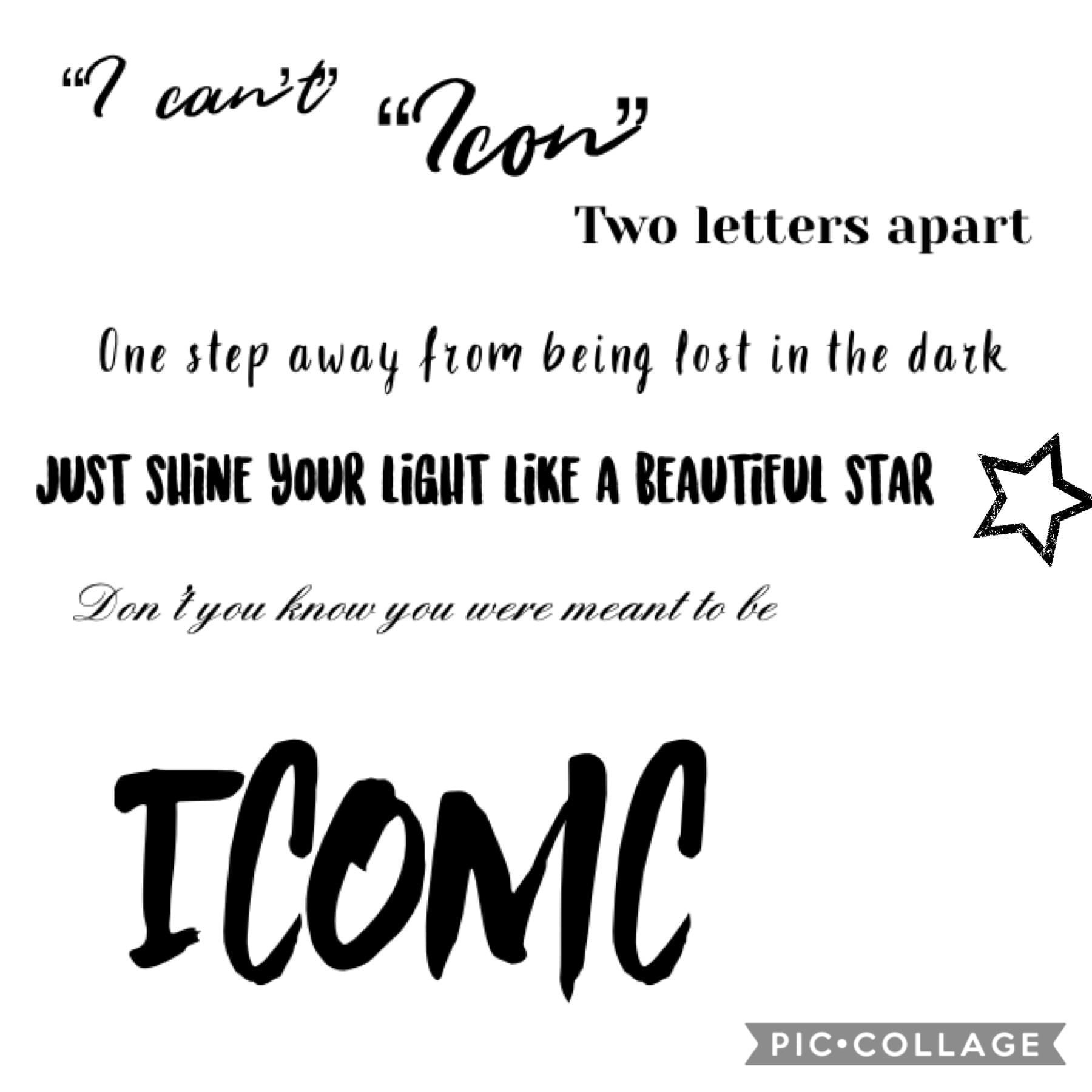 🙌You're iconic asf, don't even try and tell yourself that you're not🙌Yesterday was my fifteenth birthday, and it was great. Ready for another great year✌️💞