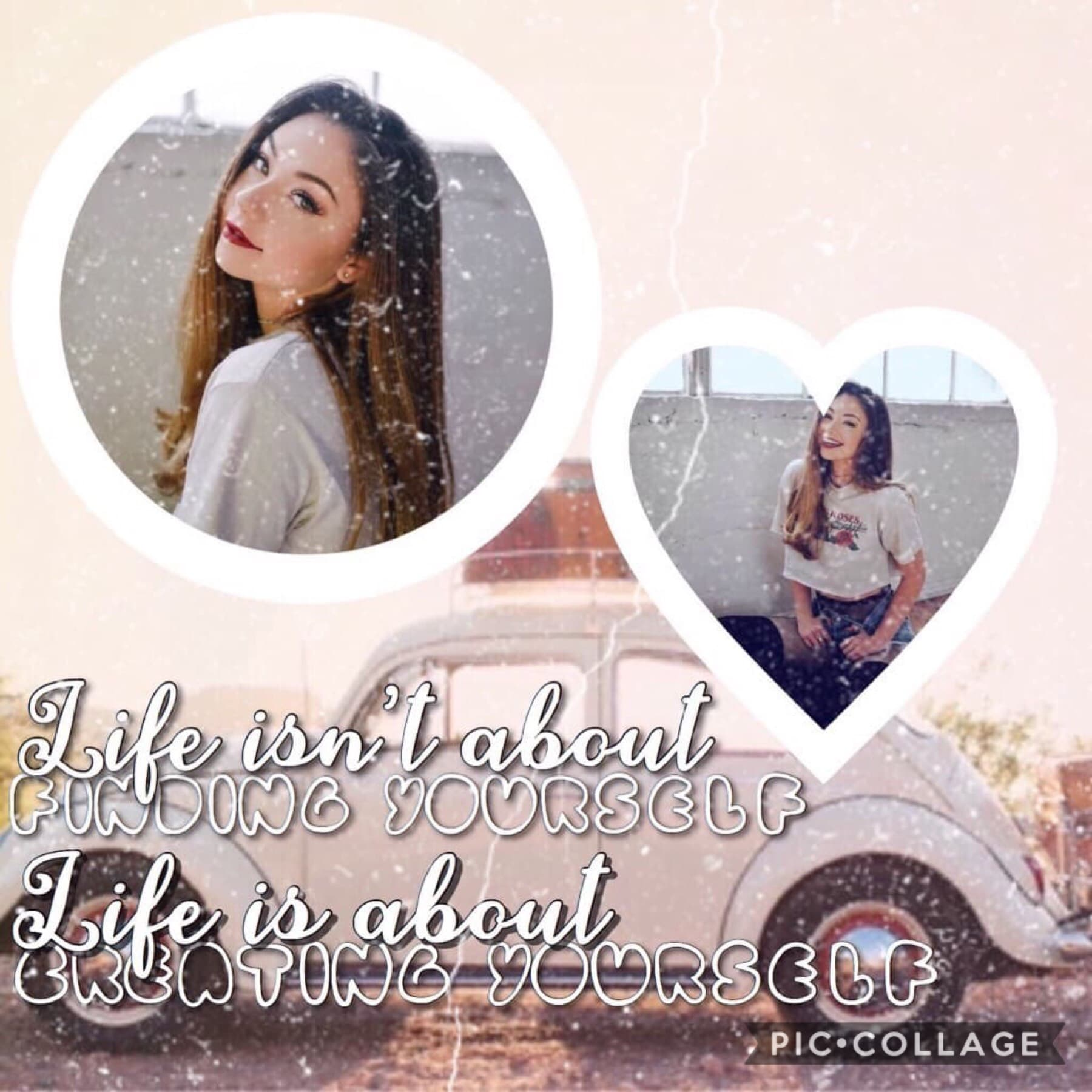 Collab with... The incredible _britkitten_!!!!❤️🤪😊 Go follow her if you aren't already! She has amazing collages!!!!🤗😘 (Idid the background, she did the text)🌽❤️