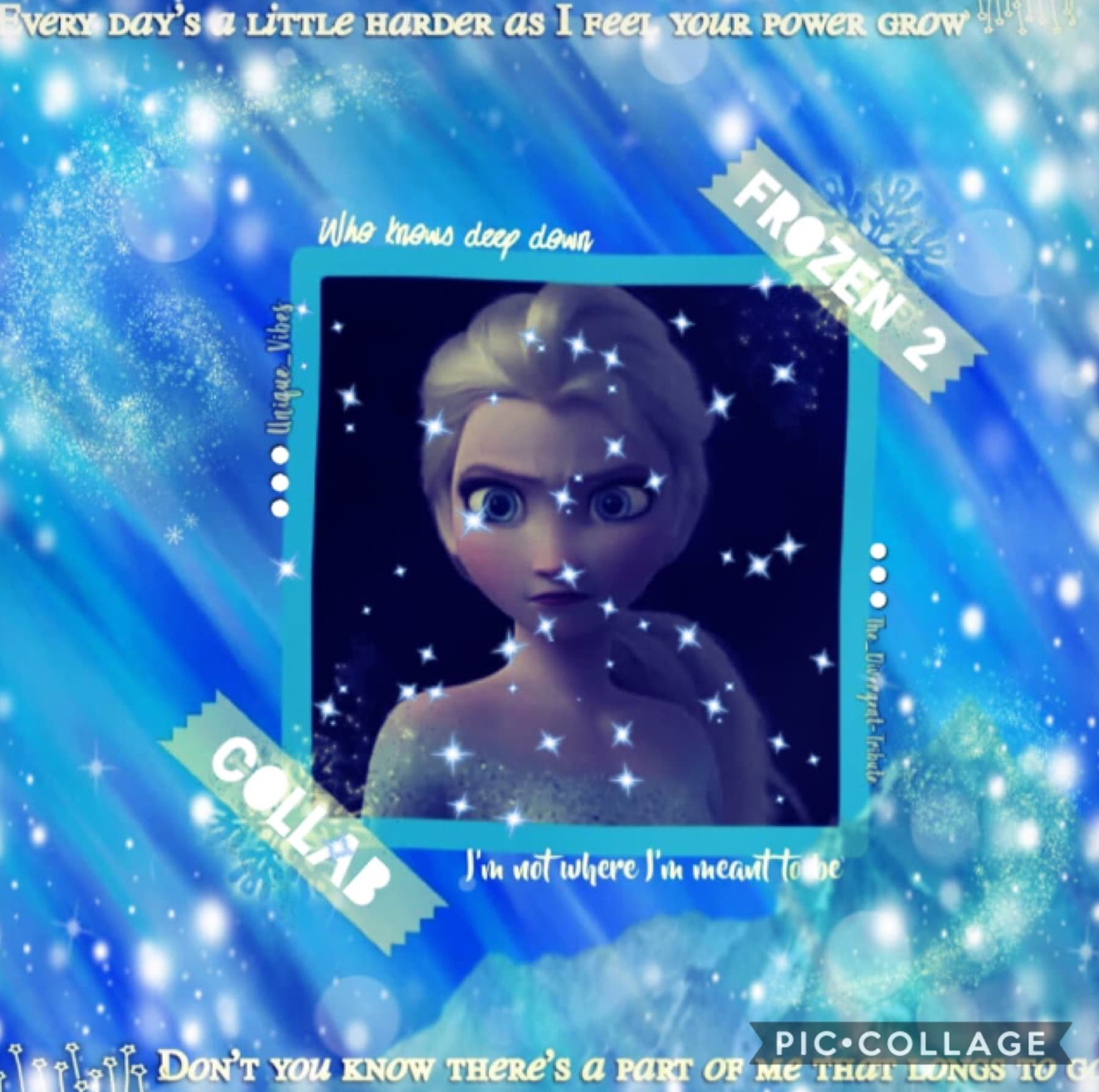 Collab with the amazing.... Divergent-tribute sorry if I spelt ur username wrong anyway Frozen two it is brilliant I did the background and she did the great text Qotd: have you seen Frozen 2 Aotd: yes and I love it
