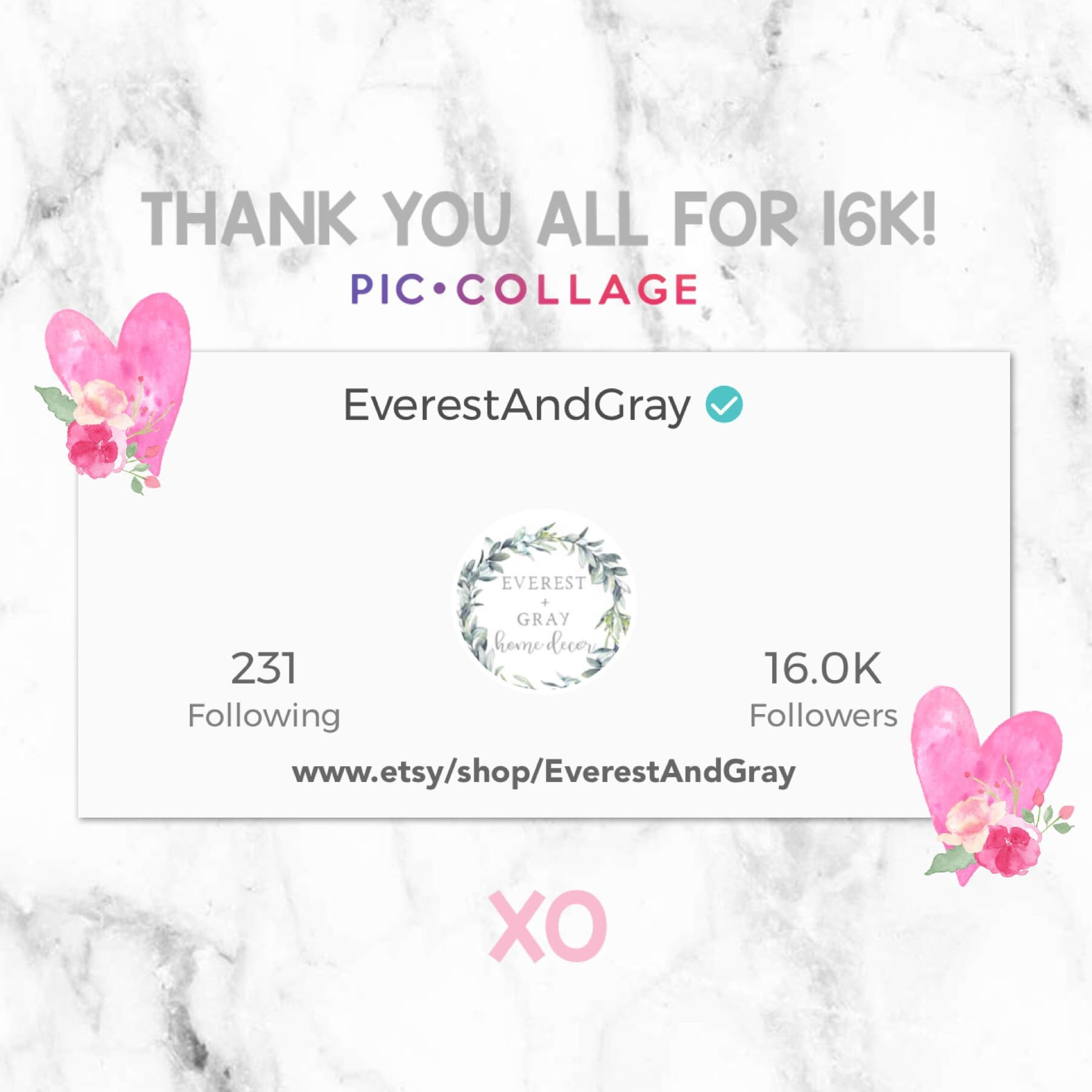 🌿Wow! Wow! WOW! Guys! 16k?!! Thank you all so much 🙏🏽 for following and for all the likes, comments, everything! I do appreciate it all. Have a wonderful weekend!!♥️ @piccollage #piccollage #love #follow #like