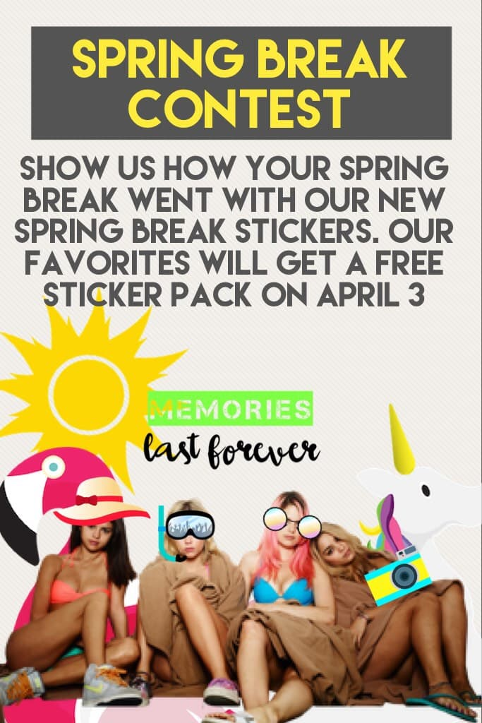 Spring break contest
