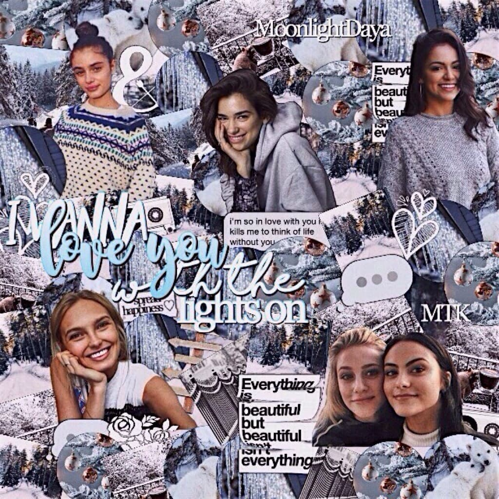 ≫a winter edit for y'all I personally love it😇❄️ so tell me your opinion:)💙✨ I started it like a month ago and I finally finished it today👏🏻💸plus that sooong😻