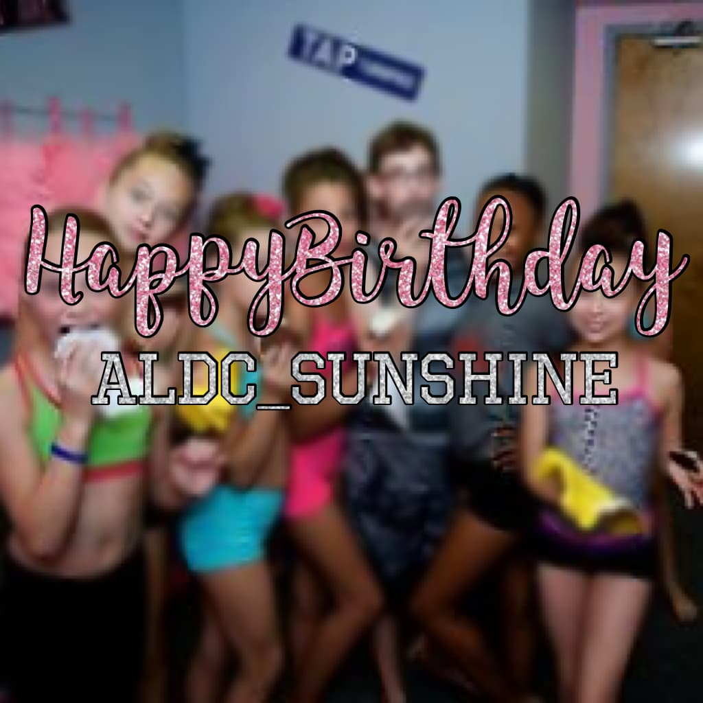 Tappp💛 ALDC_Sunshine is leaving pc in 2 days !😓 please don't xx😨 we all love you x block the haters with your Awsome personality and your creative post xxx btw ...... HAVE A GREAT BIRTHDAY!!😘