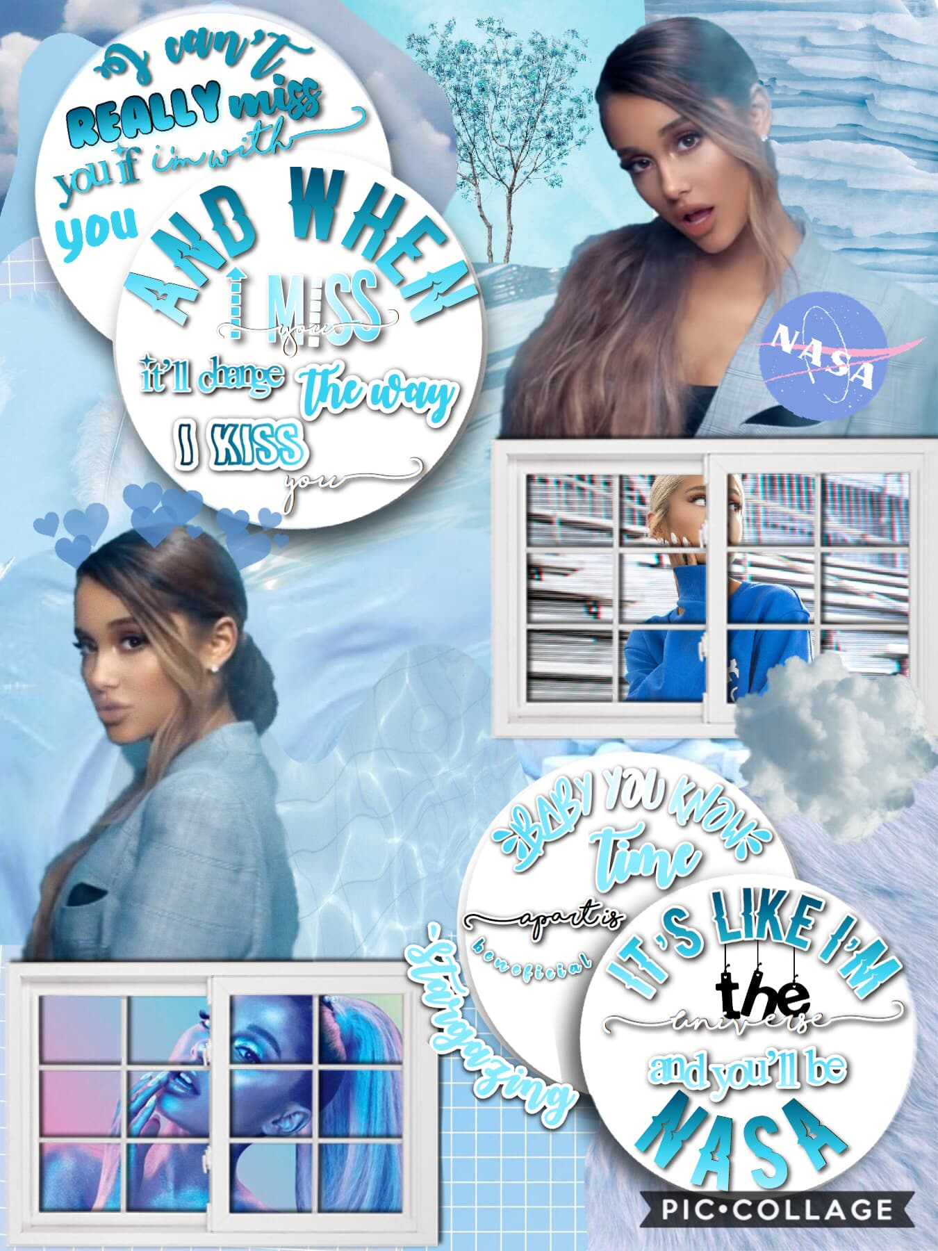 💙t a p💙 This is for @-VSCOVIBES-  Ariana Grande contest!  I'm the first to enter! Plz  enter! Almost at 1.1K!