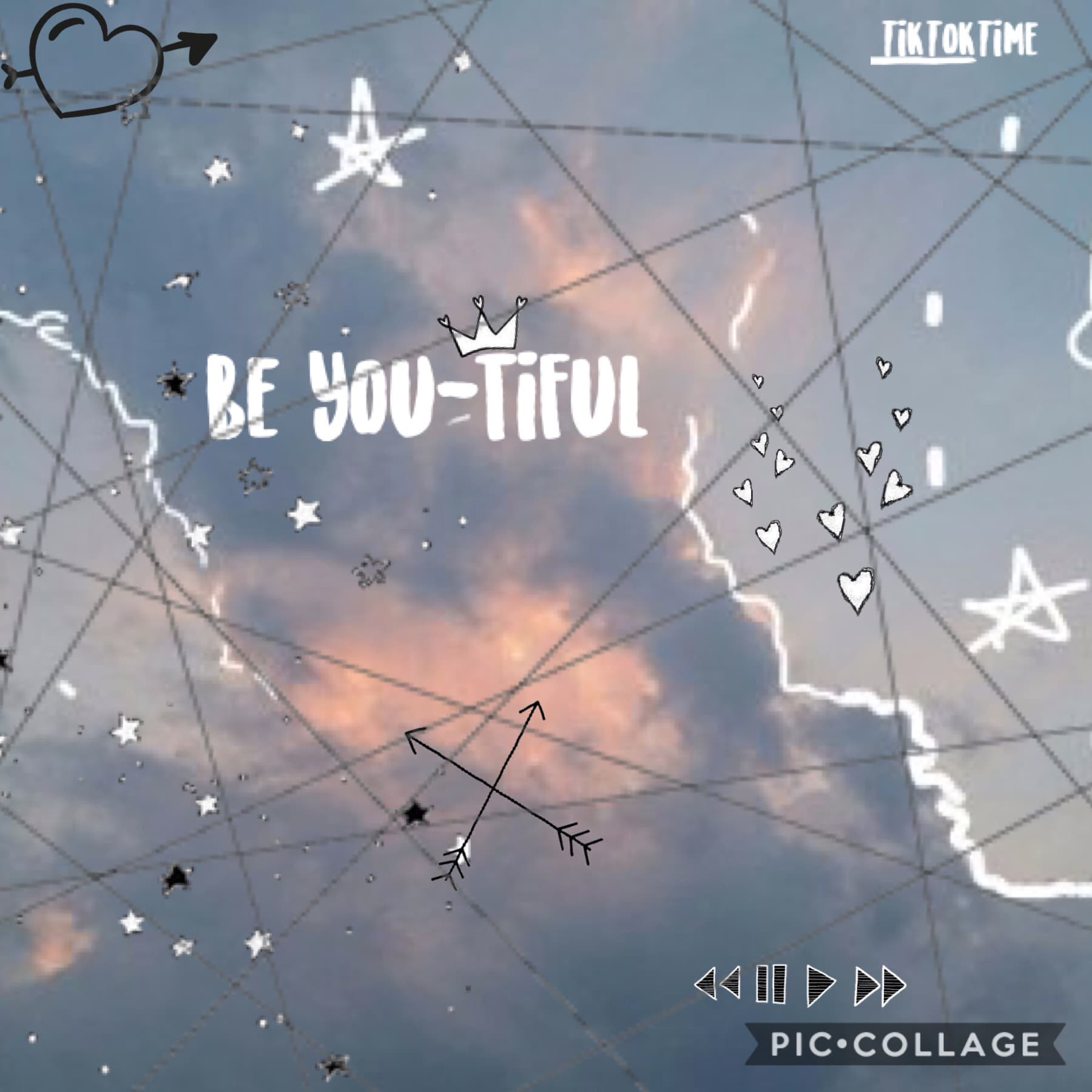 Get it? Be you-tiful? Instead of beautiful? GET IT? (what is my life?) ~ Tik Tok Time
