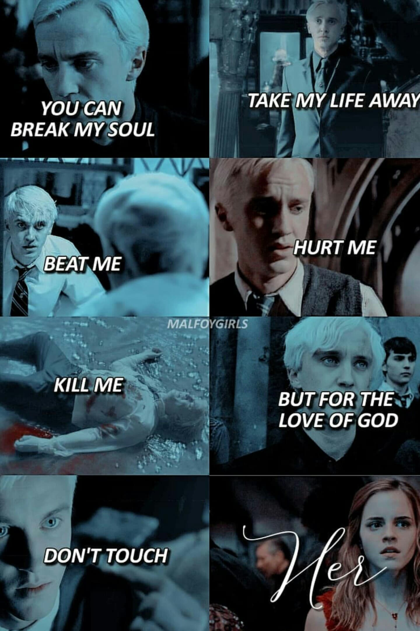 💚Click Here💛 I ship Dramione in case you couldn't tell. I love draco. he's cute. so's hermione tbh