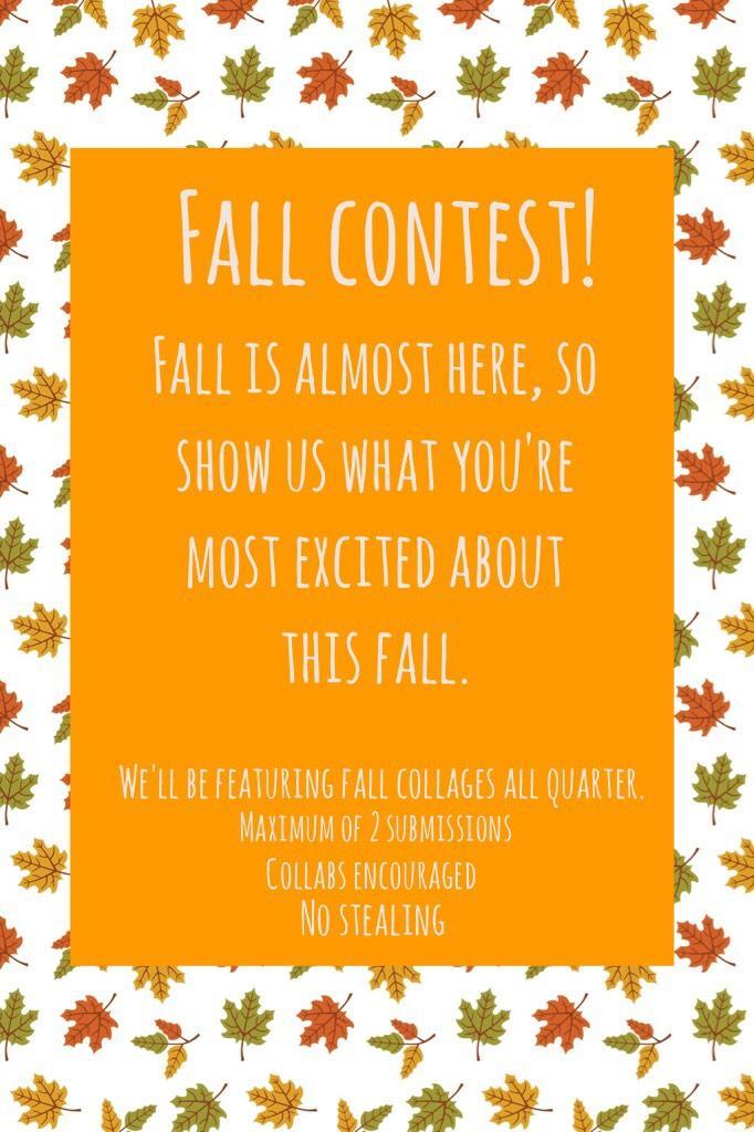 Fall contest!