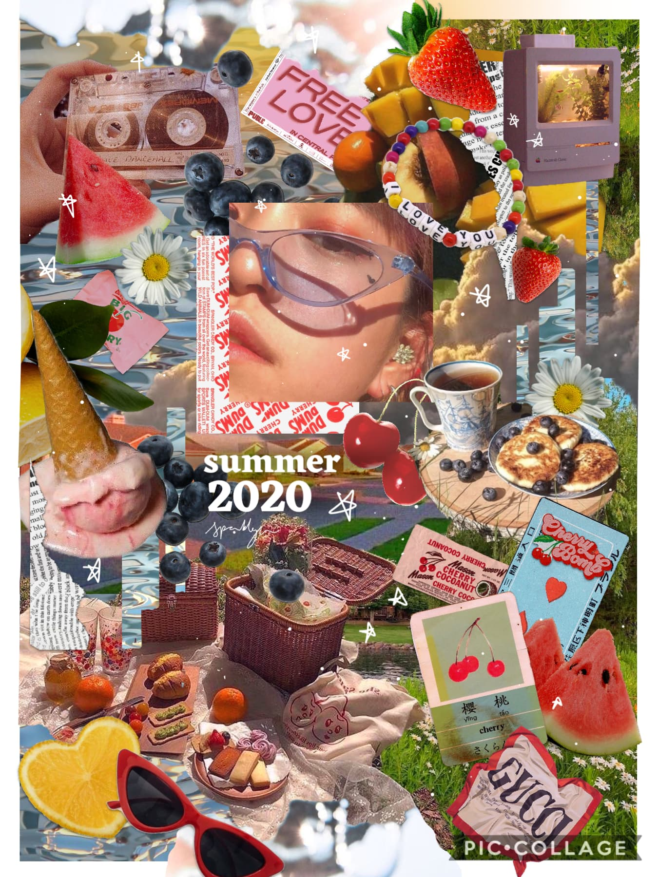 I made this for all the summer contests that I just now realized all ended 🙂. Lol this collage is a lot brighter in color than my past collages. Hah hopefully it doesn't stick out like a sore thumb