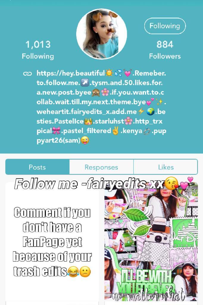 Follow me -fairyedits xx😘💕