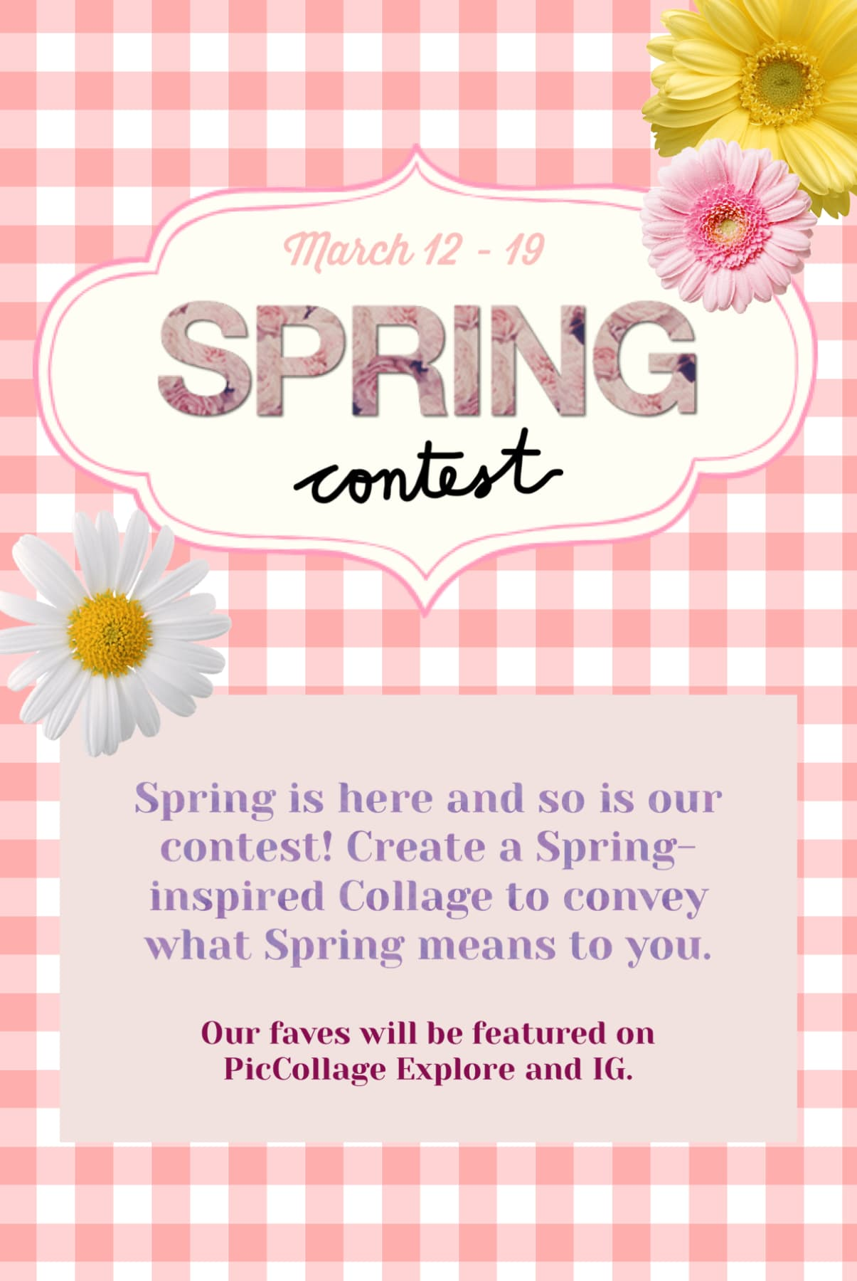 🌸 Spring contest is here! Submit in the remixes by 3/19 Thursday.