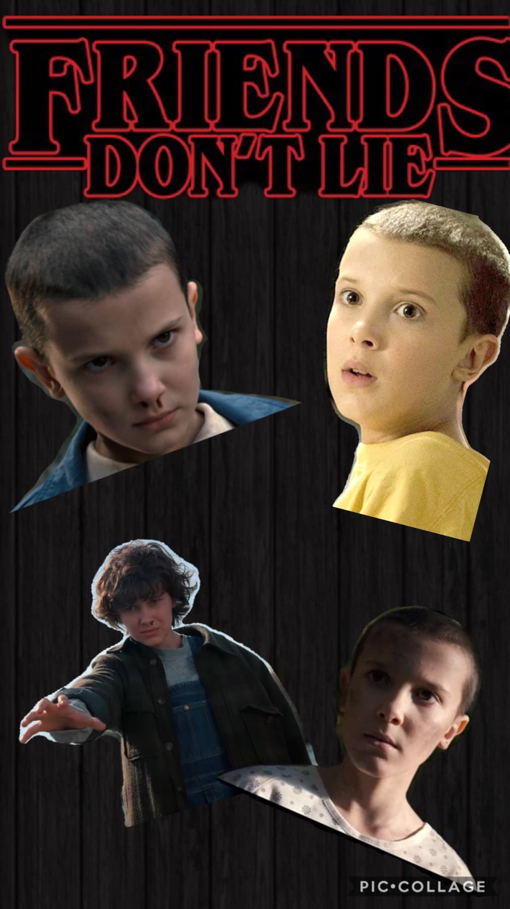 Who said I wasn't OBSESSED with stranger things!!!