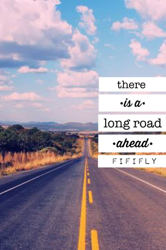 🛣🛣tap tap tap🛣🛣 Heya! This is kinda an own quote???😂 Please rate this! QOTD: What is the longest distance you've ever driven? AOTD: probs when I went on a tour around the Rocky Mountains with my dad or when we drove to Colorado to go ski with frens🌟💞🌿🎶