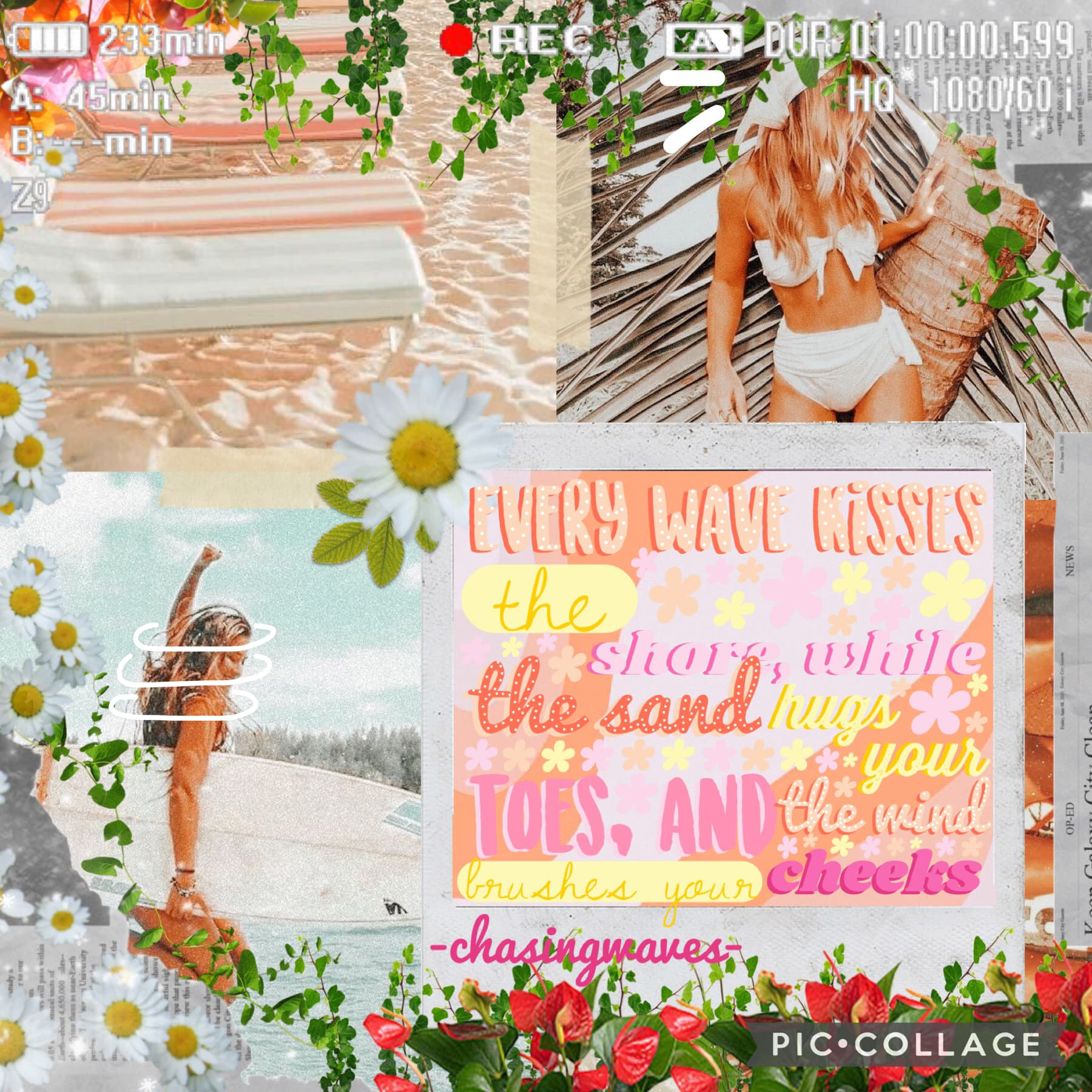 Tap Here's my collage for May! I hope you all like it, it's inspired by the lovely clear-blue-water!