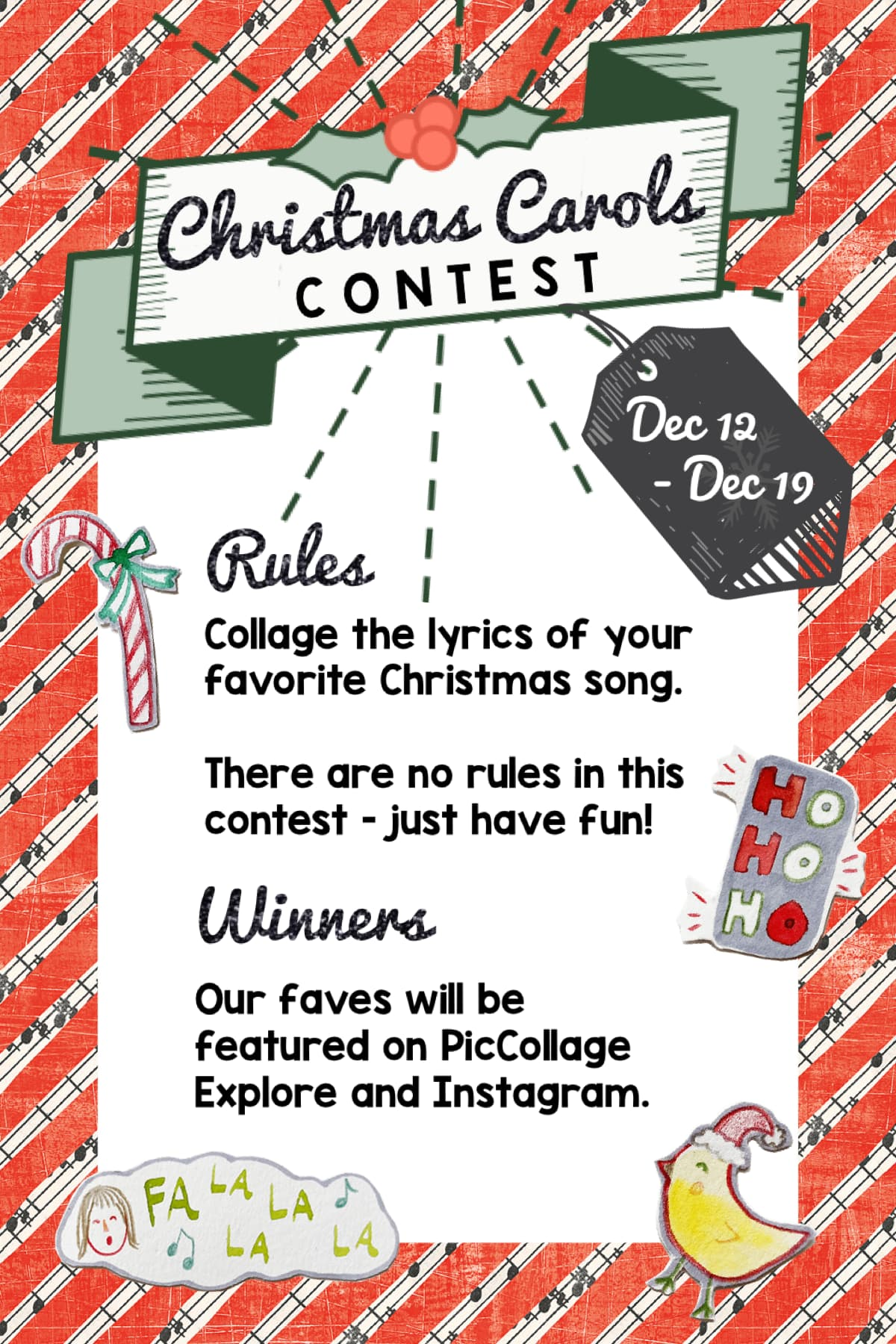 🔔 Last contest of the year - collage away!
