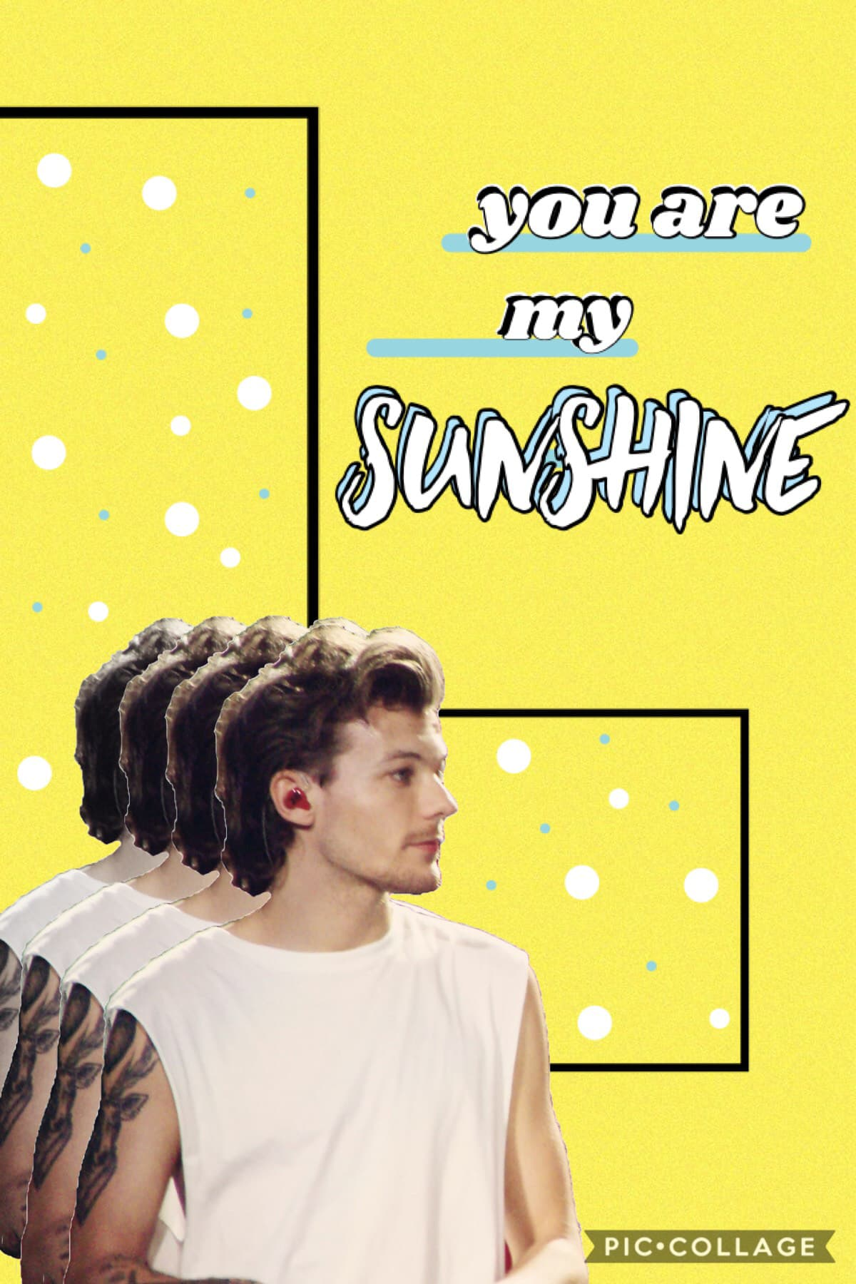 i apparently have a thing for basic pastel edits hhhwewrj here's some louis to brighten ur day. (like literally, this yellow is blinding)