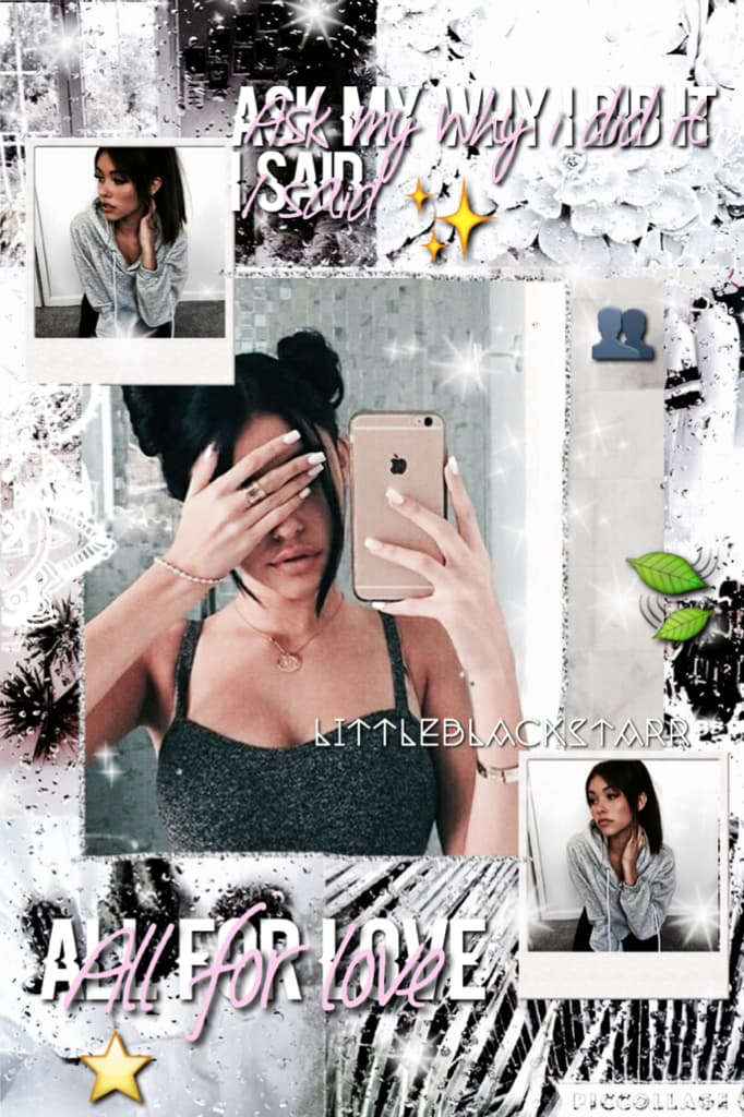clickk💫 Madison Beer✨. Does someone wants to collab? I have never done that before🙈⭐️. Do you guys want another selfie btw? I deleted the other one bc i changed a bit😂🍃💓