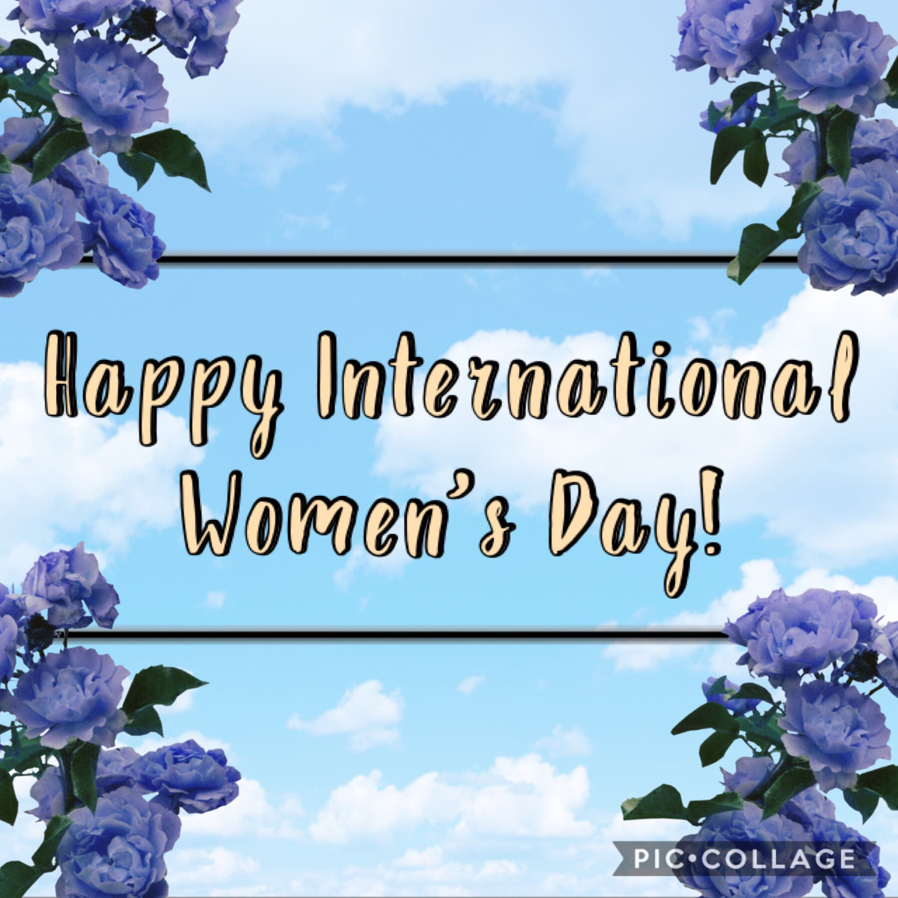 Happy International Women's Day! 👑 🚺 💪🏻 💪🏼 💪🏽 💪🏾 💪🏿 💙 👩🏻🦲 🧕🏻 👱🏻♀️ 👩🏻🦰 👩🏻 👩🏽🦱 👩🏾 👩🏿 👩🏻🦳 🧬 It's also Middle Name Pride Day. 😆 QOTN: What's yours? 🧐 AOTN: Hope. 🌈 My mom is gonna trim my hair later, it's getting kinda long again... 😬 ✂️ 🤞🏻